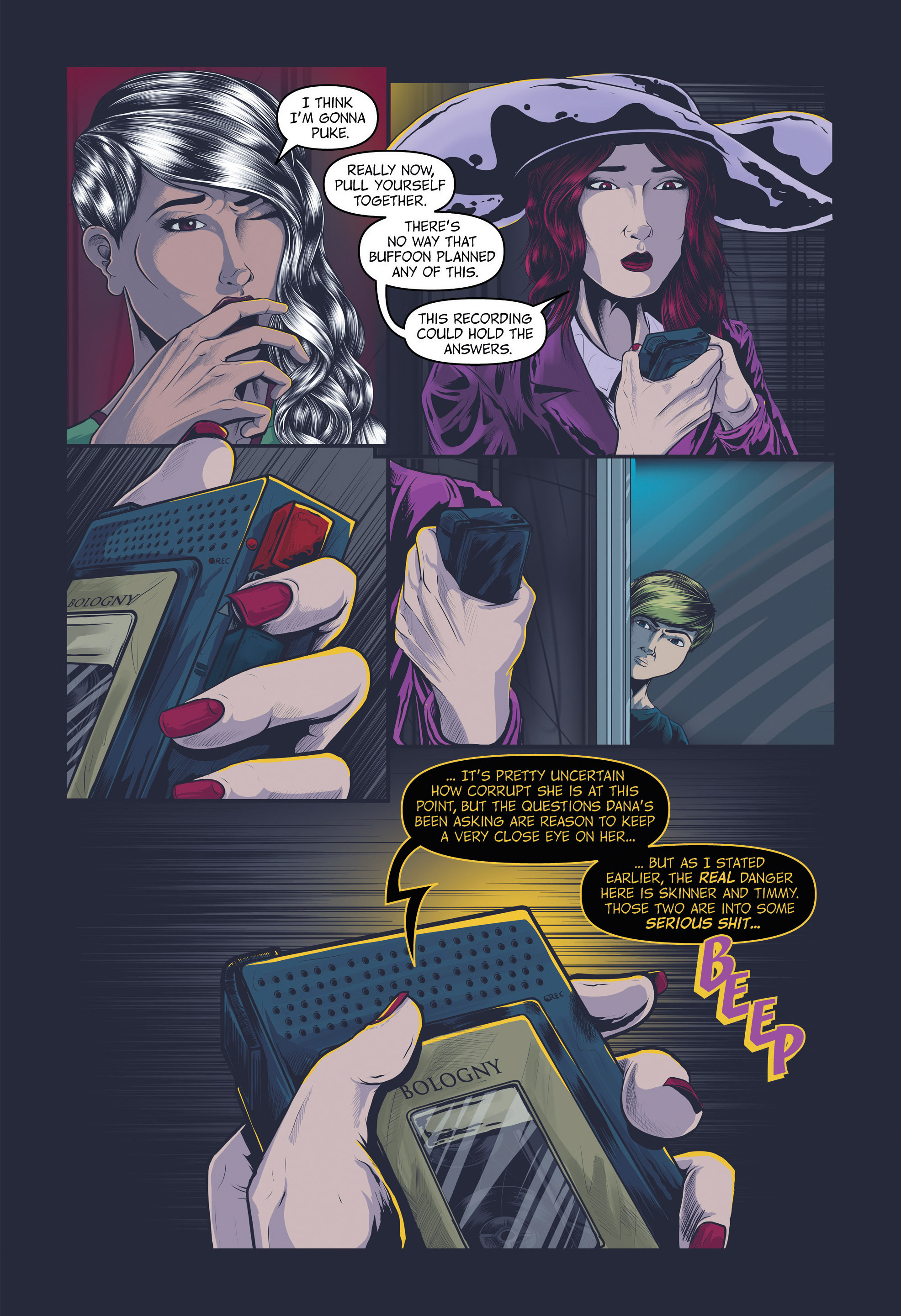 Read online Redemption Heights comic -  Issue # Full - 74