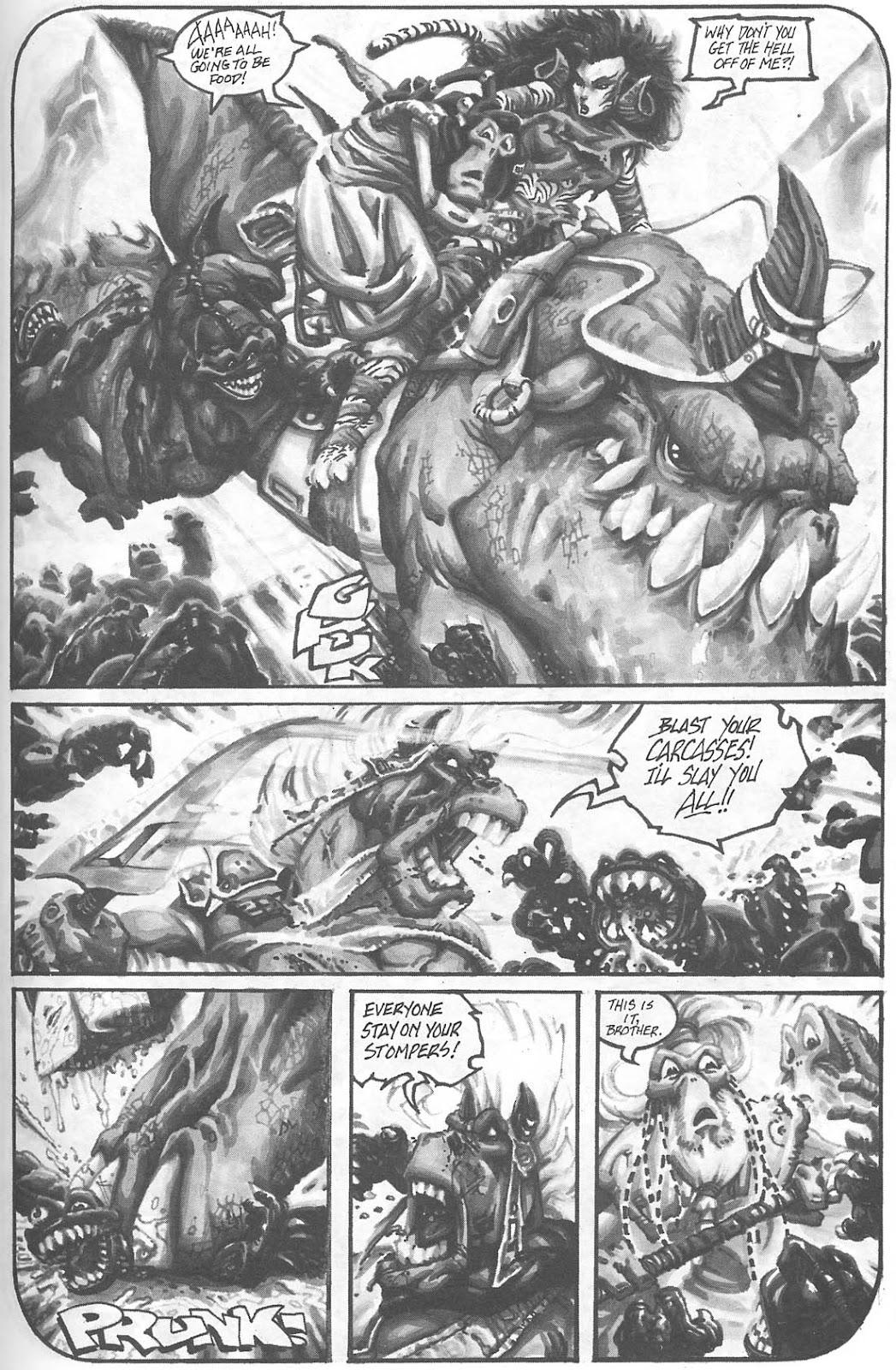 Read online Animal Mystic comic -  Issue #4 - 20