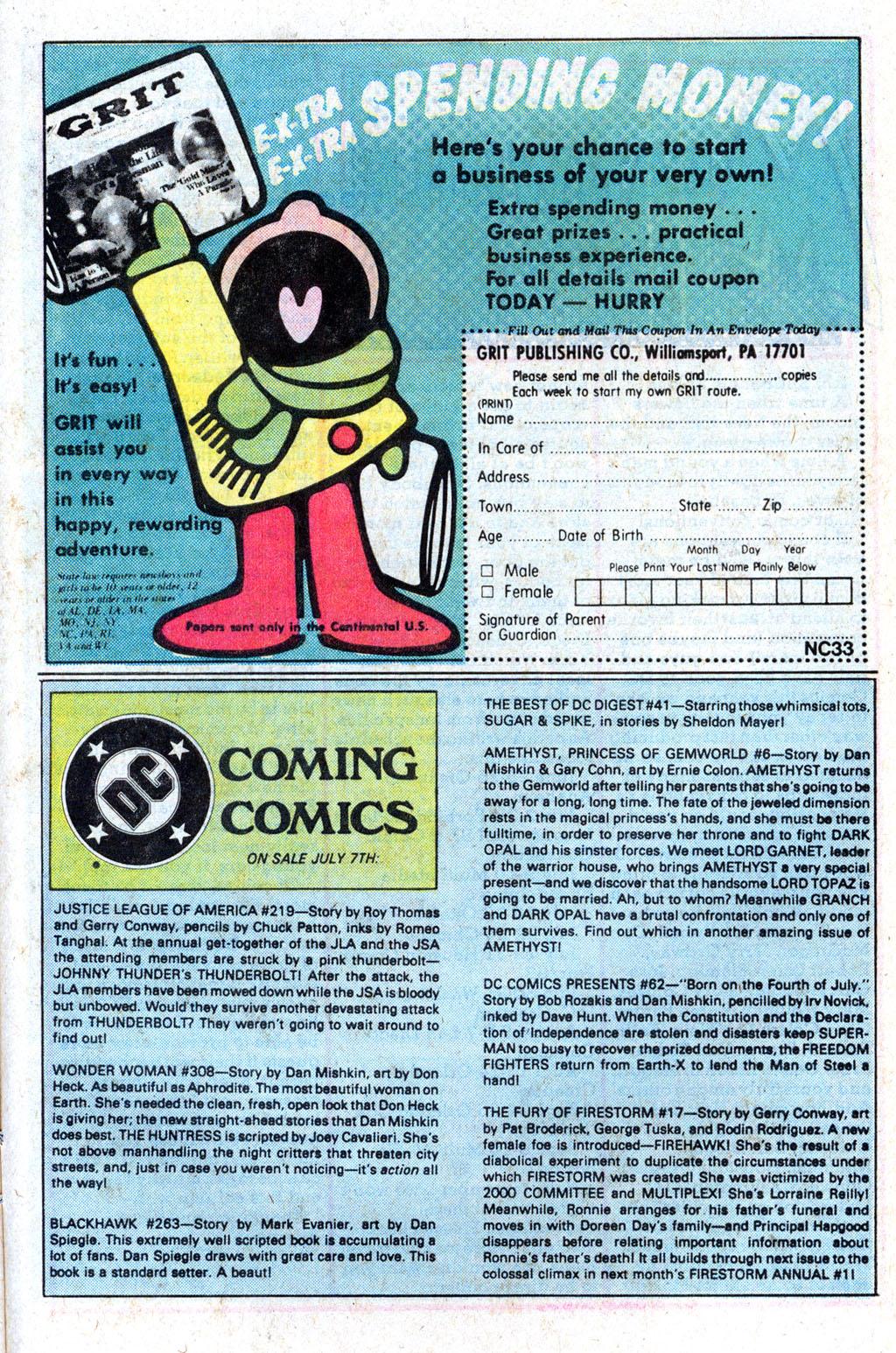 Read online Wonder Woman (1942) comic -  Issue #308 - 29