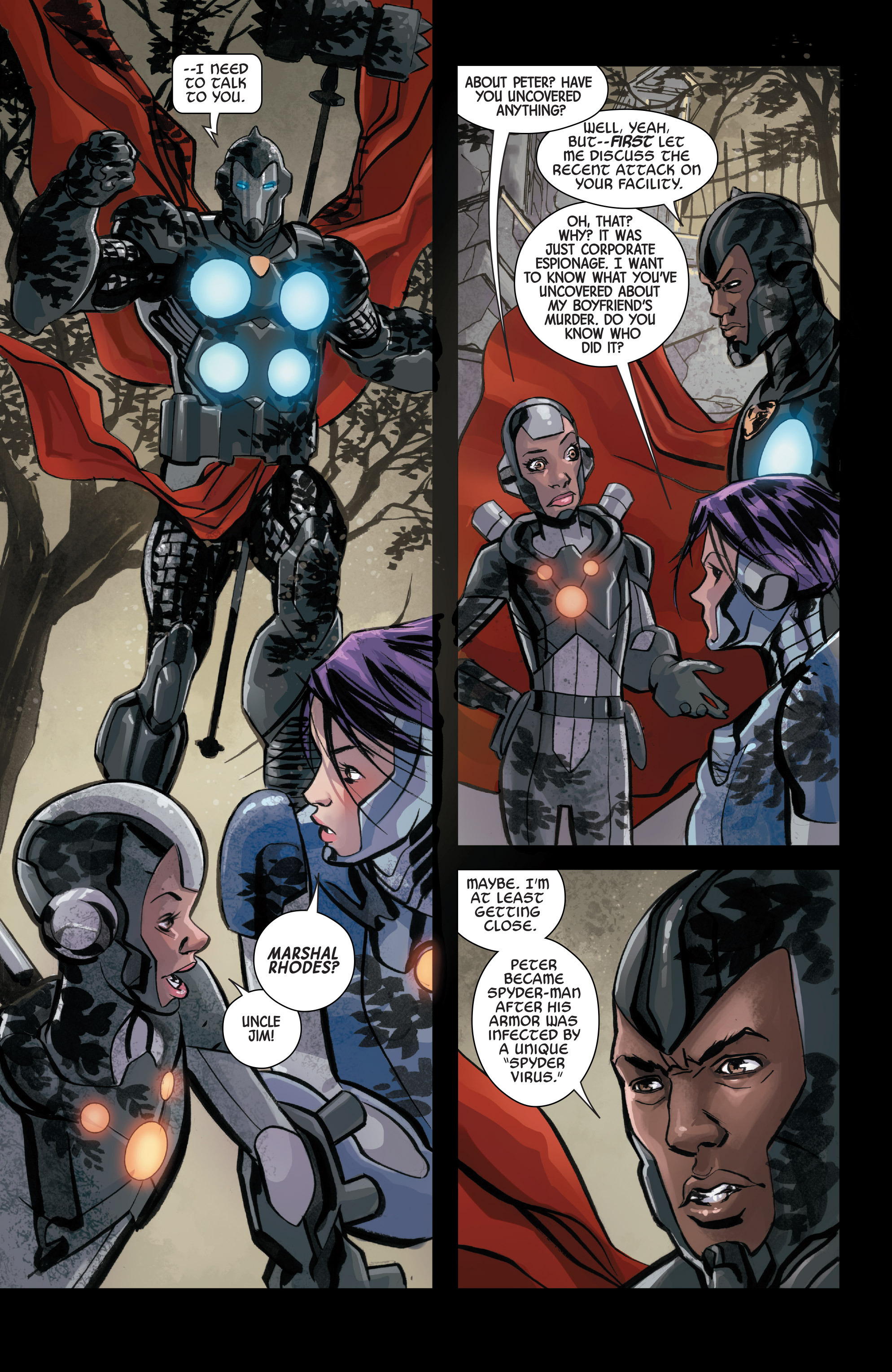 Read online Armor Wars comic -  Issue #3 - 8