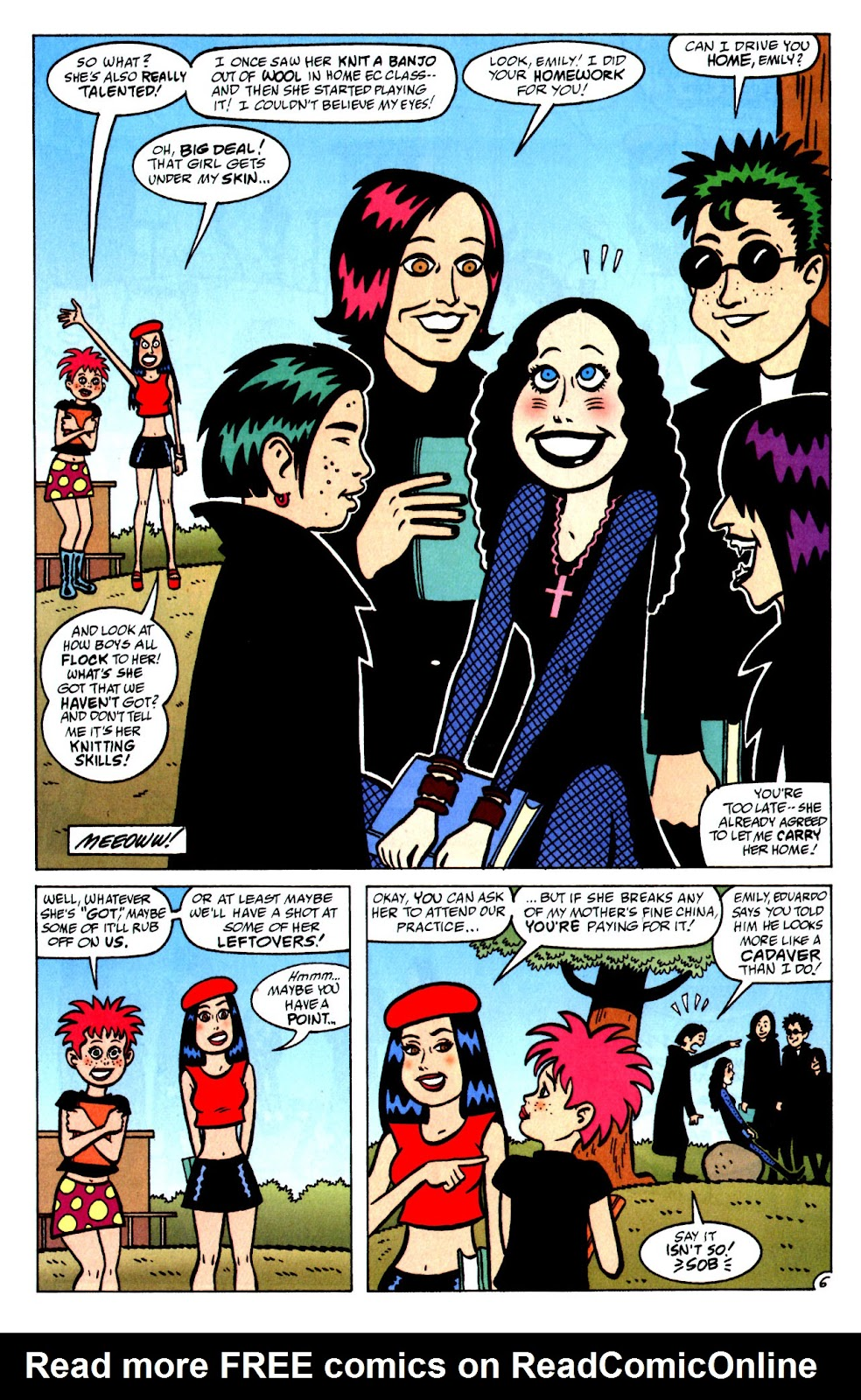 Read online Yeah! comic -  Issue #4 - 10