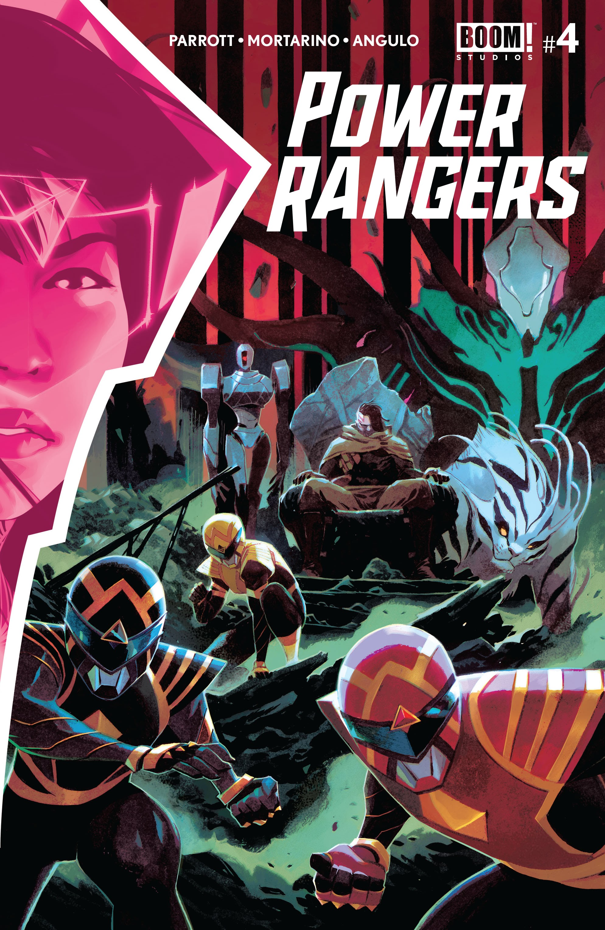 Power Rangers 4 Page 1