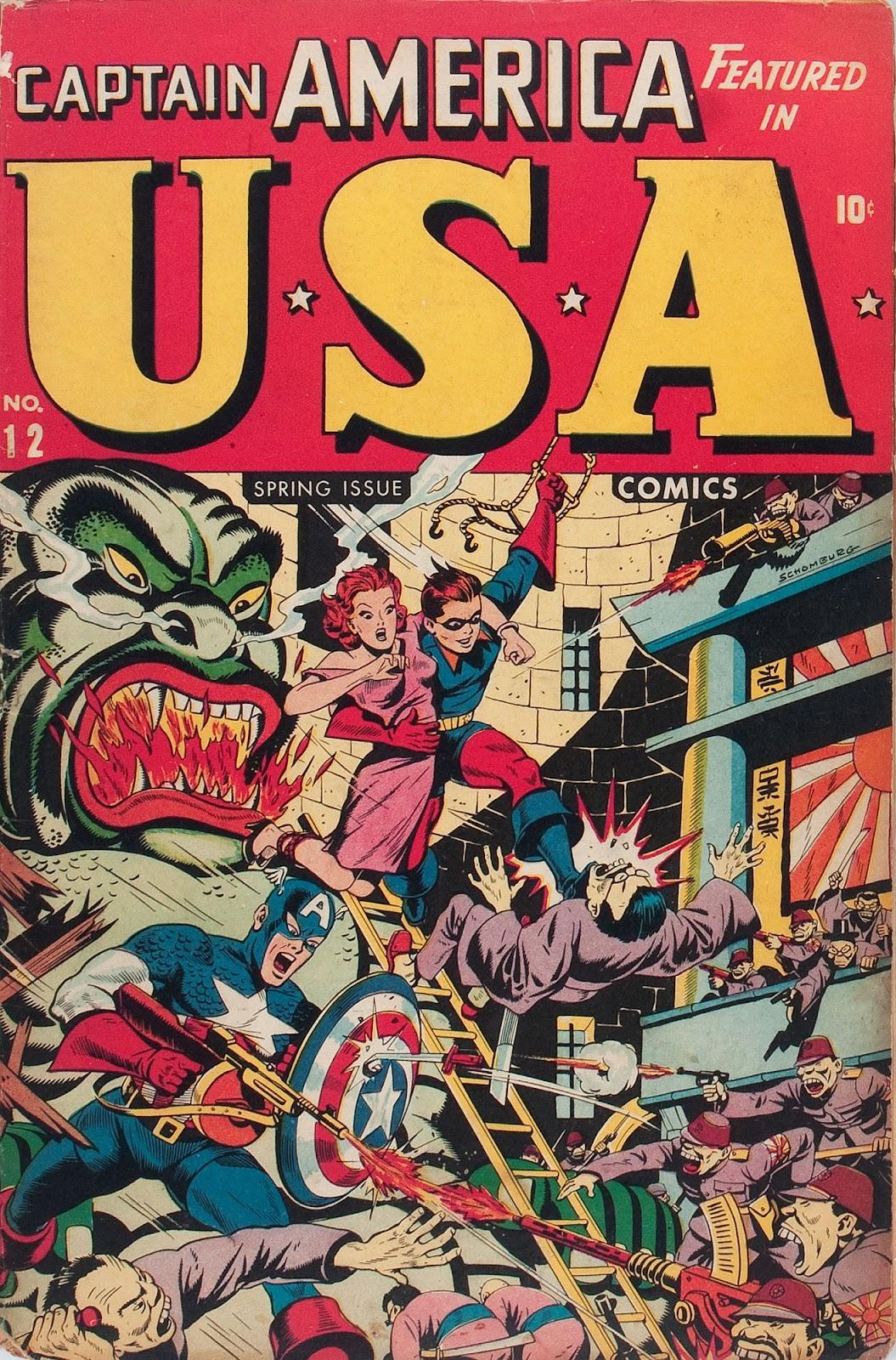 USA Comics 12 Page 1