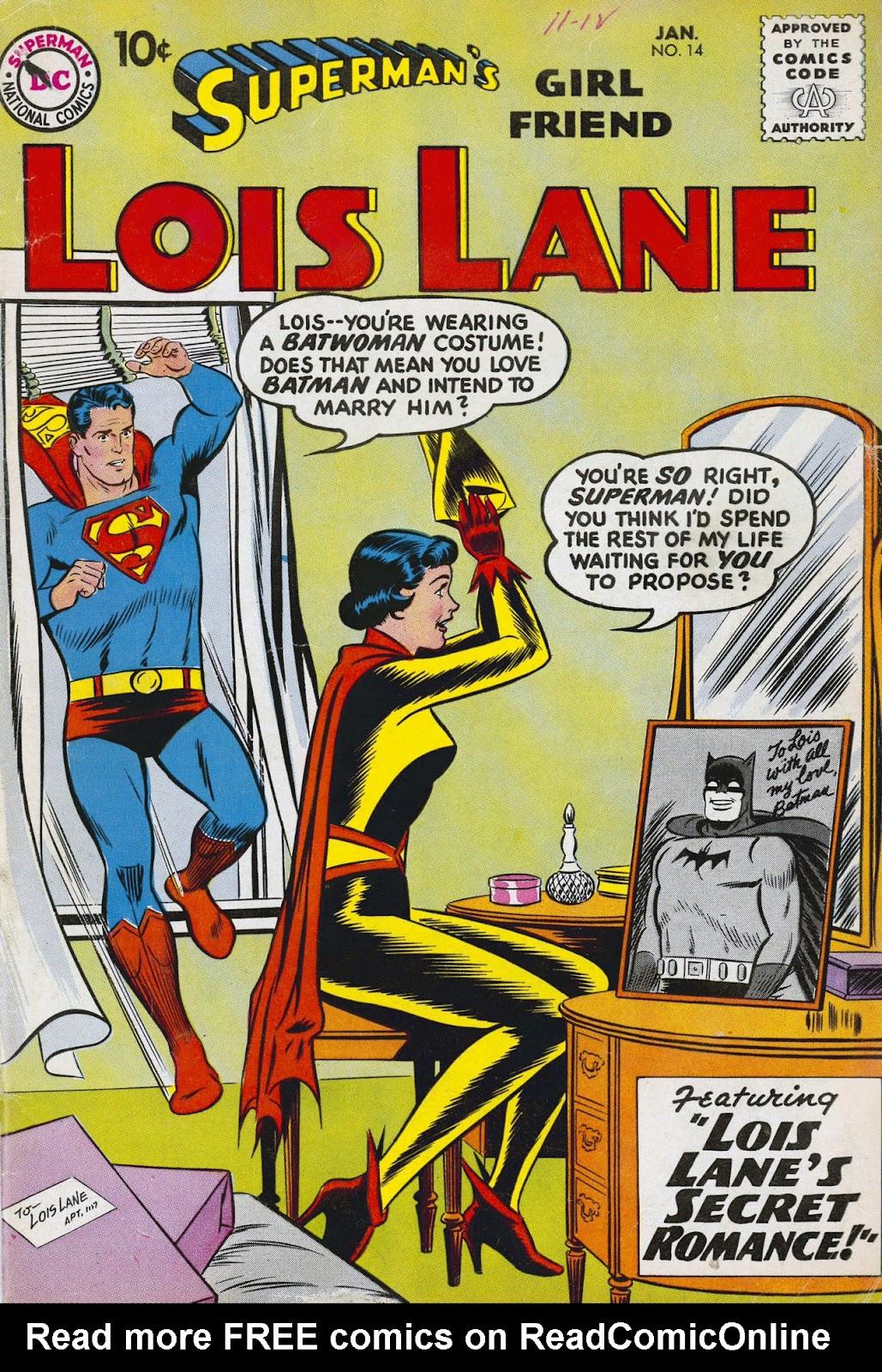Supermans Girl Friend, Lois Lane 14 Page 1