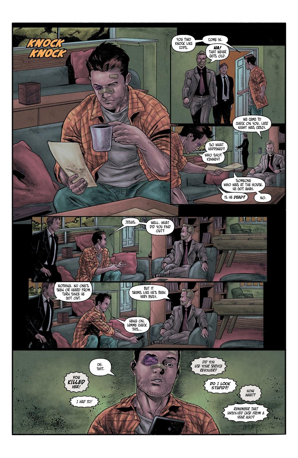 Read online Vindication comic -  Issue #4 - 12