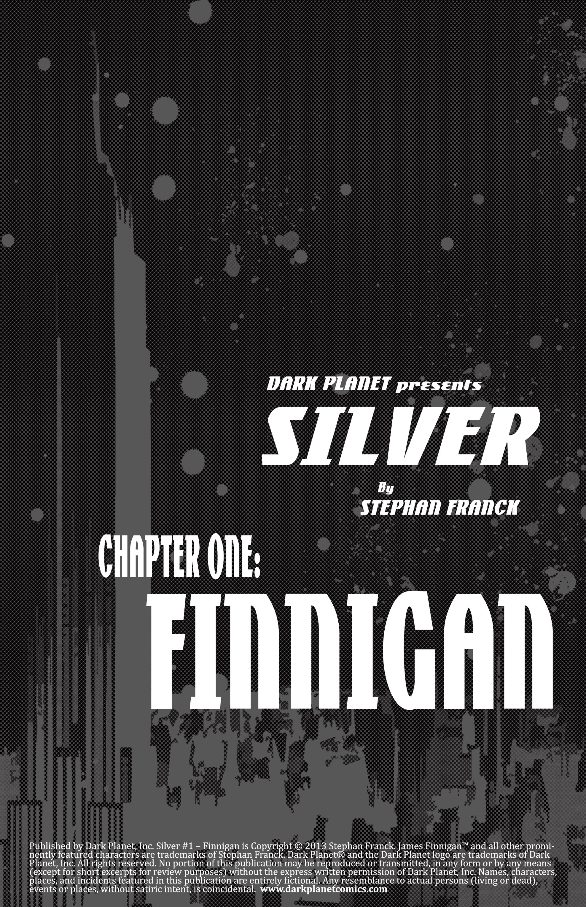 Read online Silver comic -  Issue #1 - 2