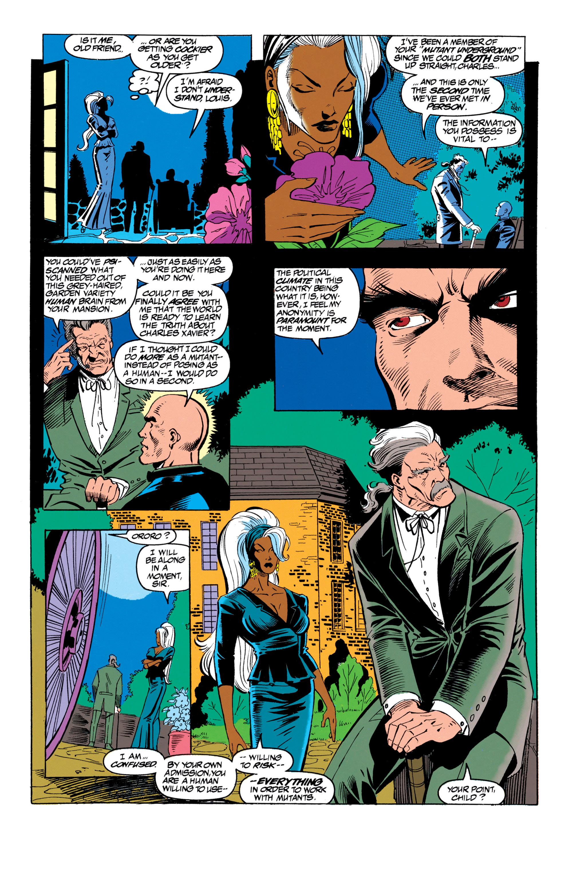 Read online Uncanny X-Men (1963) comic -  Issue #305 - 9