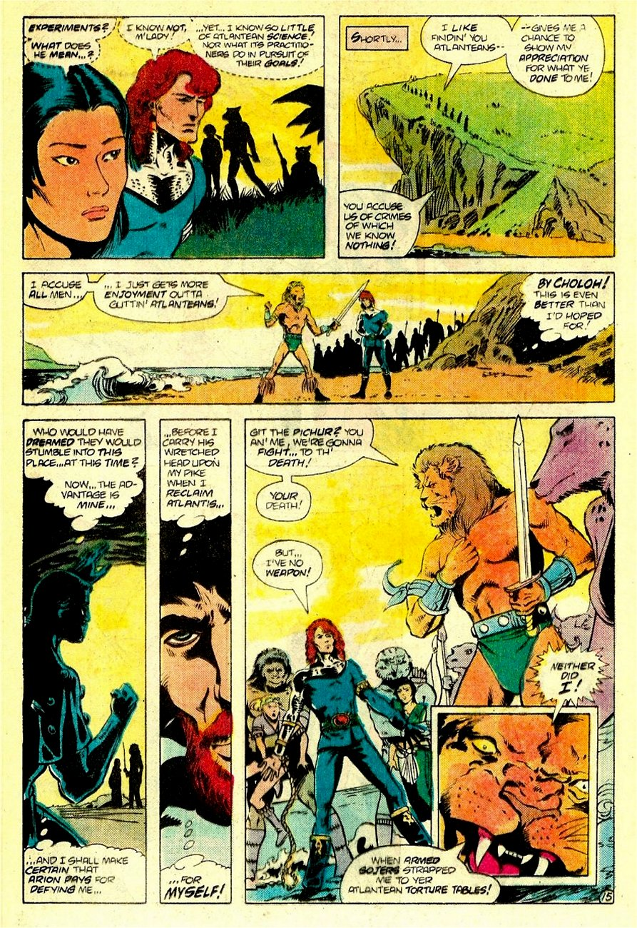 Read online Arion, Lord of Atlantis comic -  Issue #16 - 16