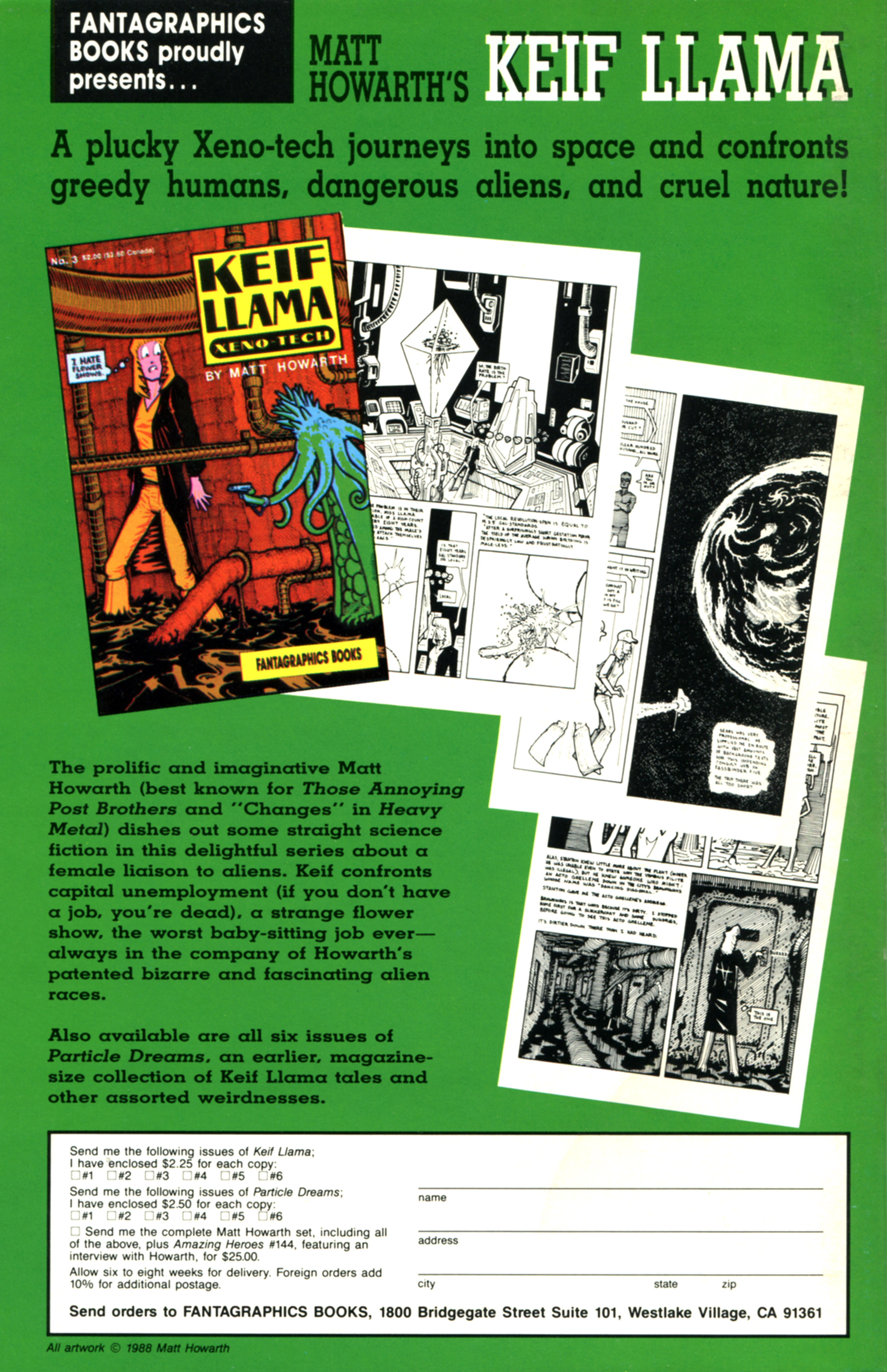 Read online Amazing Heroes comic -  Issue #155 - 43