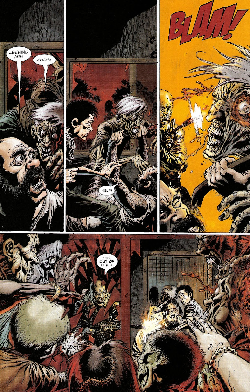 Read online Zombie (2006) comic -  Issue #2 - 9