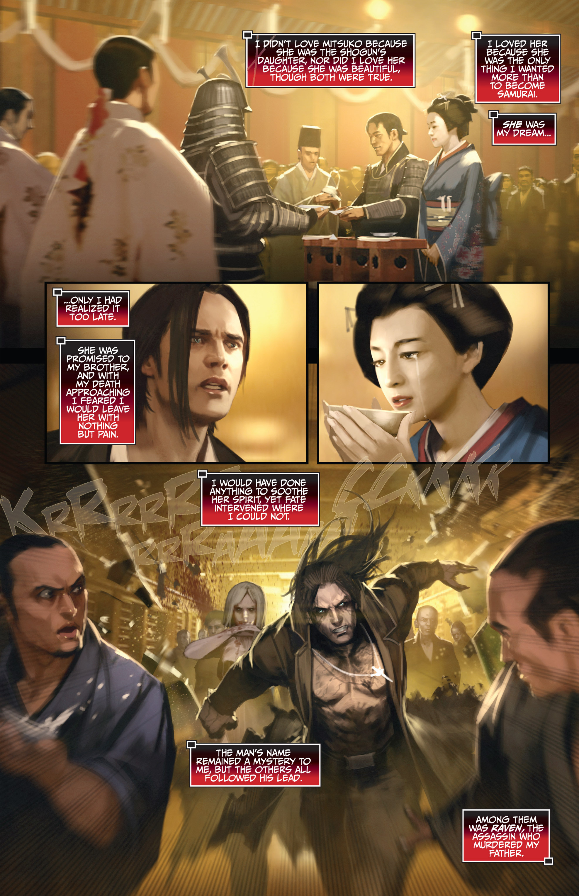 Read online Bushido: The Way of the Warrior comic -  Issue #3 - 3