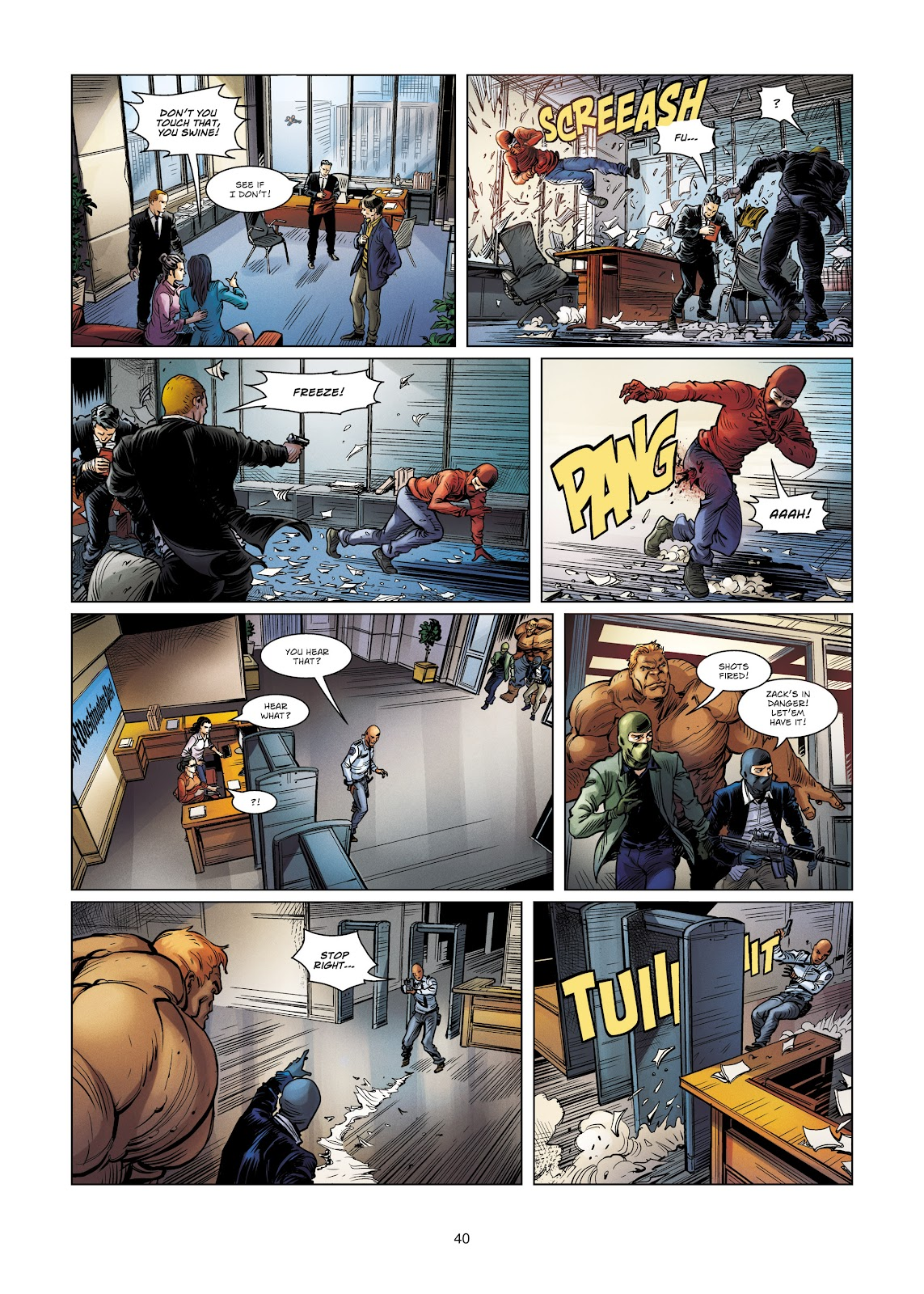 Read online Vigilantes comic -  Issue #4 - 40