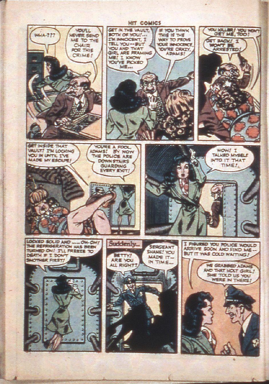 Read online Hit Comics comic -  Issue #37 - 24