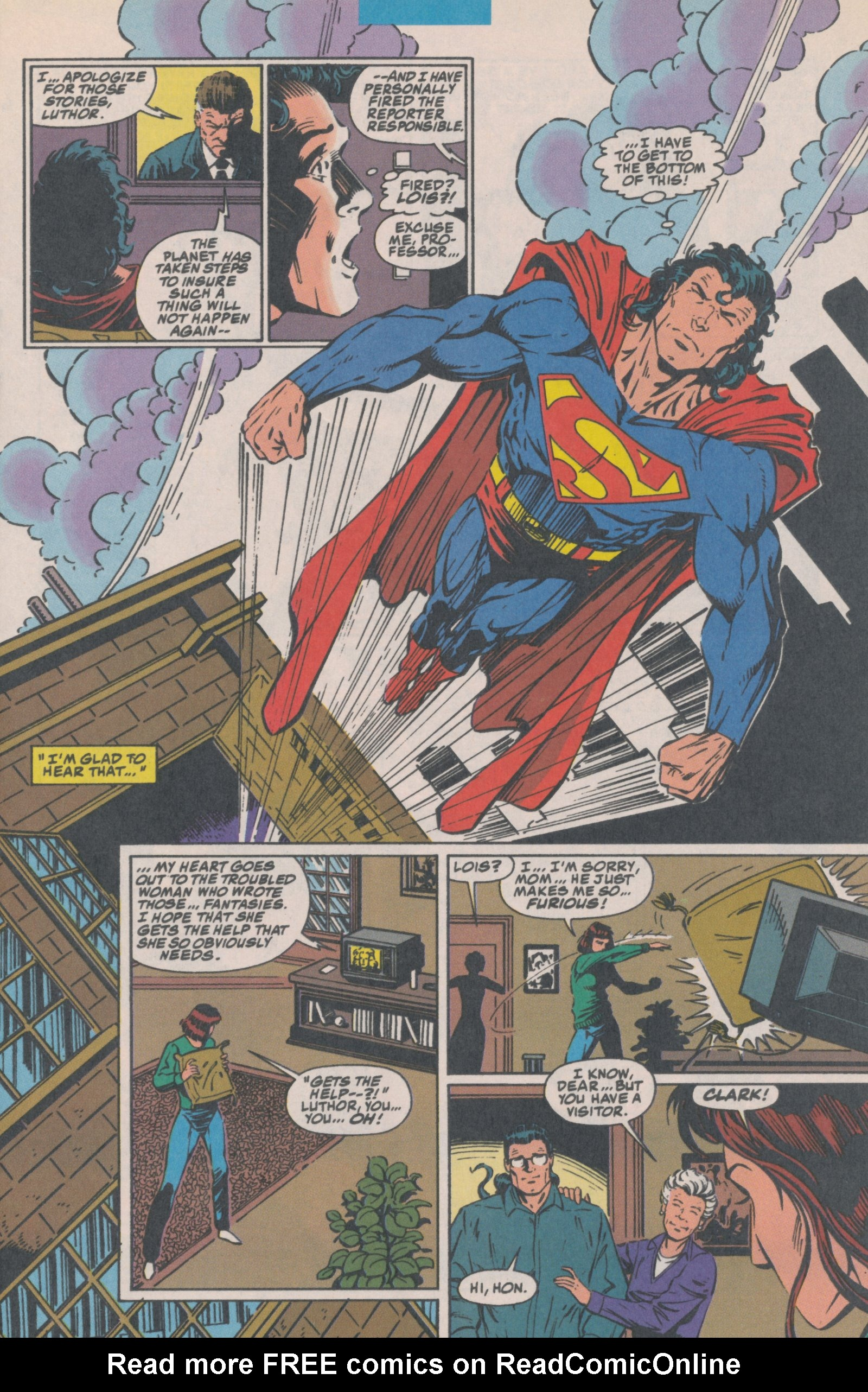 Read online Action Comics (1938) comic -  Issue #699 - 10