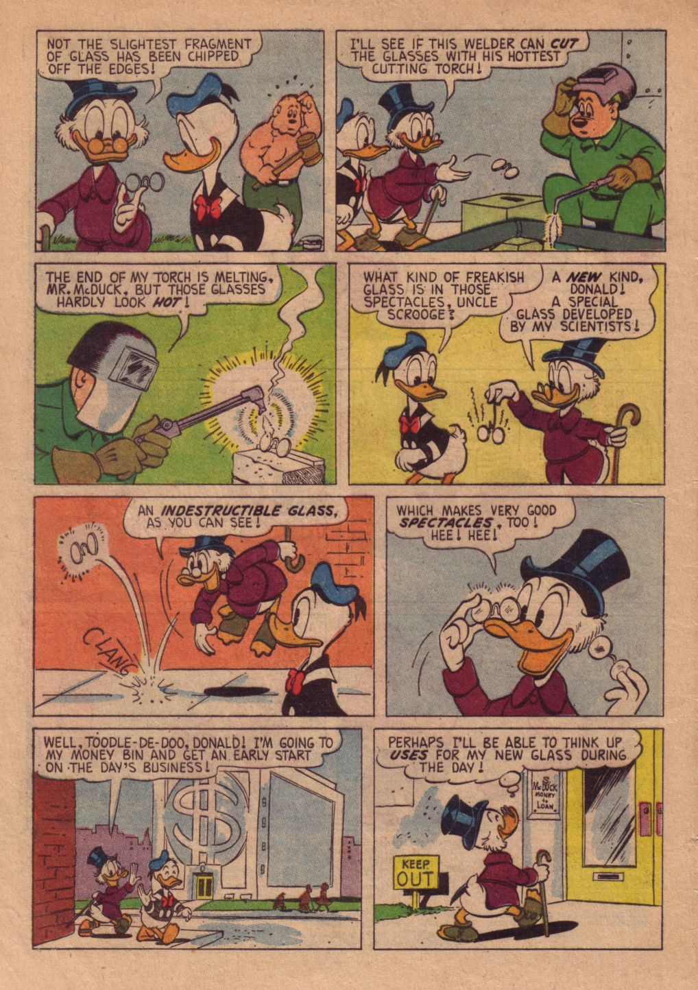 Read online Uncle Scrooge (1953) comic -  Issue #38 - 4