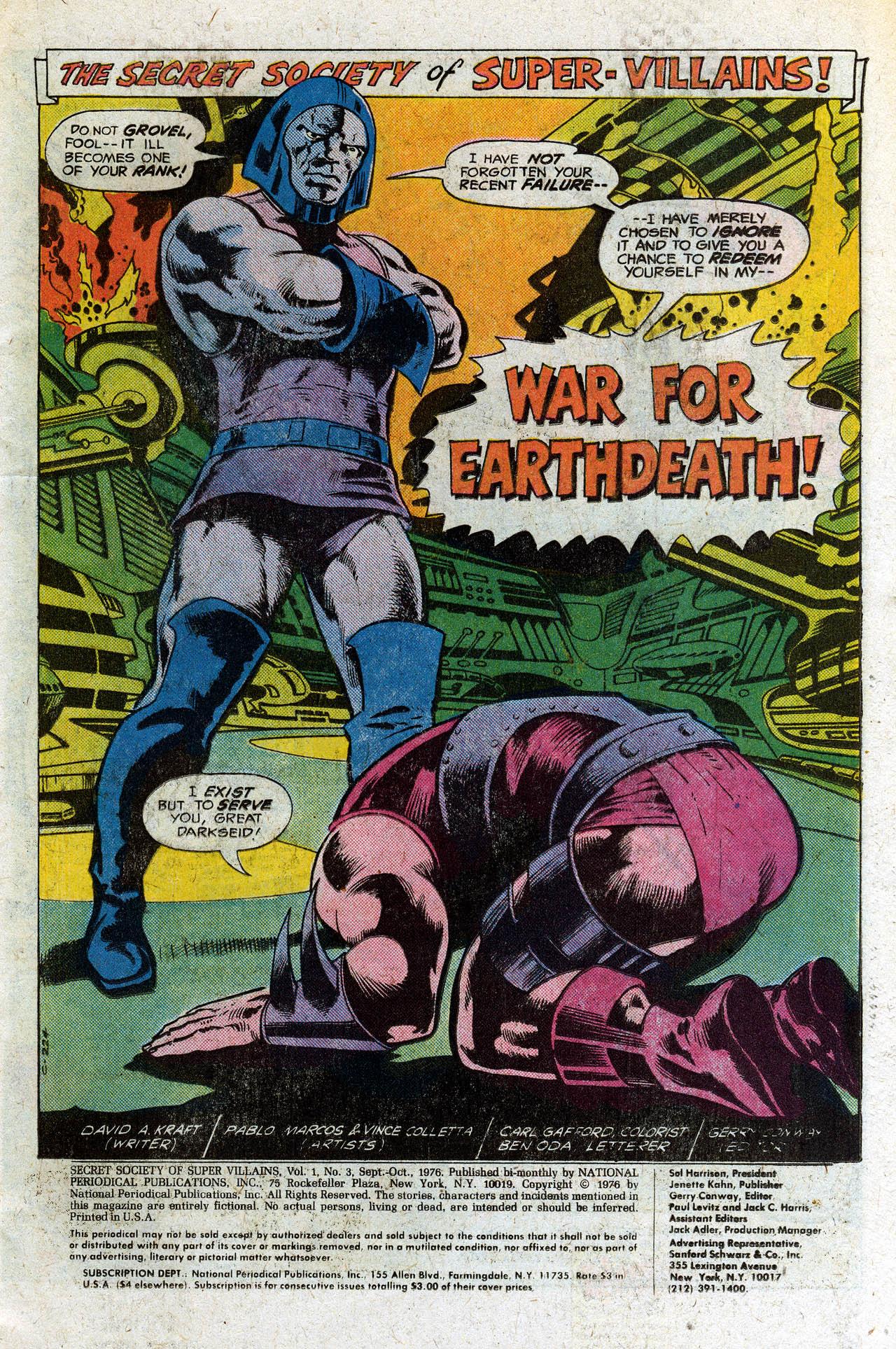 Read online Secret Society of Super-Villains comic -  Issue #3 - 3