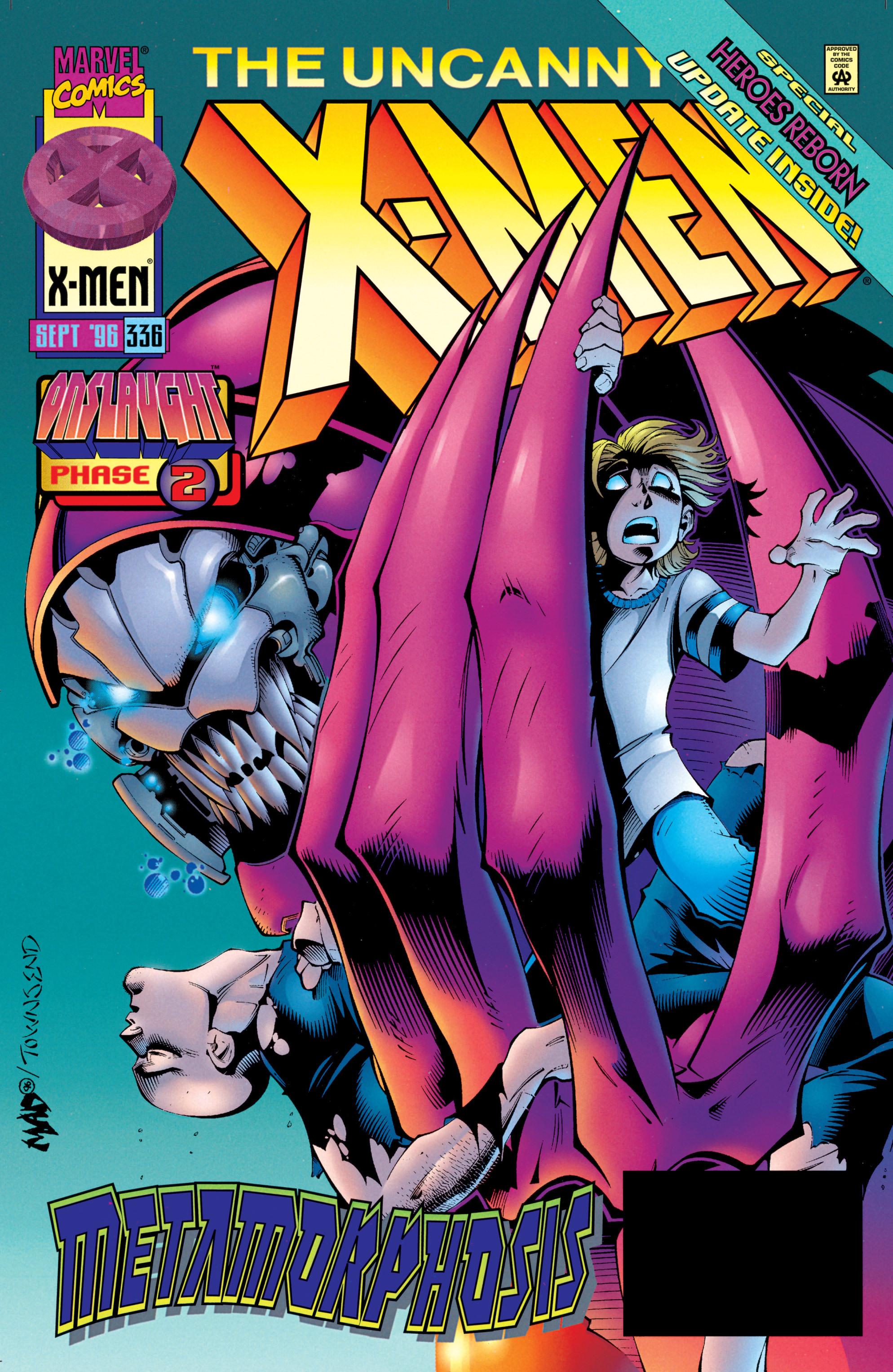 Uncanny X-Men (1963) 336 Page 1