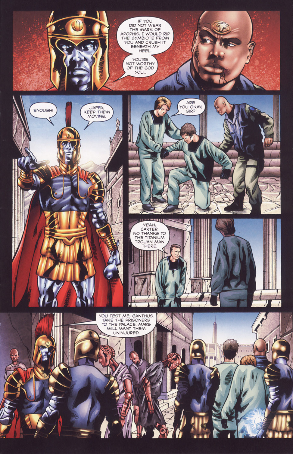 Read online Stargate SG-1: Fall of Rome comic -  Issue #2 - 5