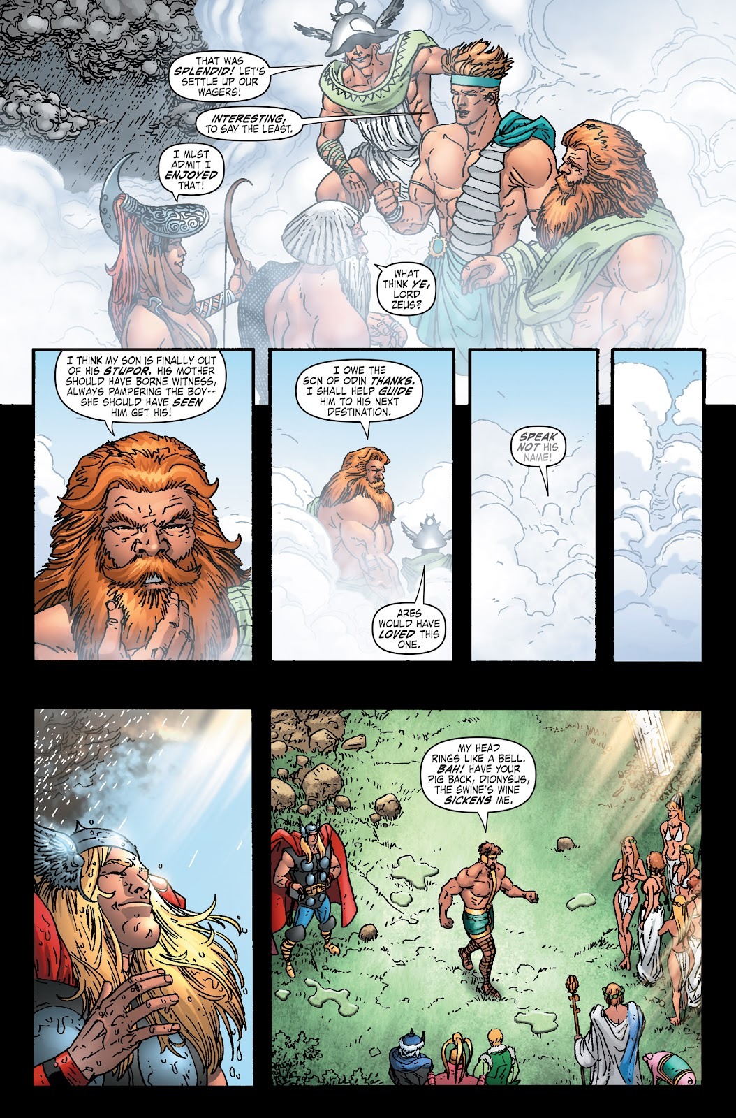 Read online Thor: Ragnaroks comic -  Issue # TPB (Part 1) - 76