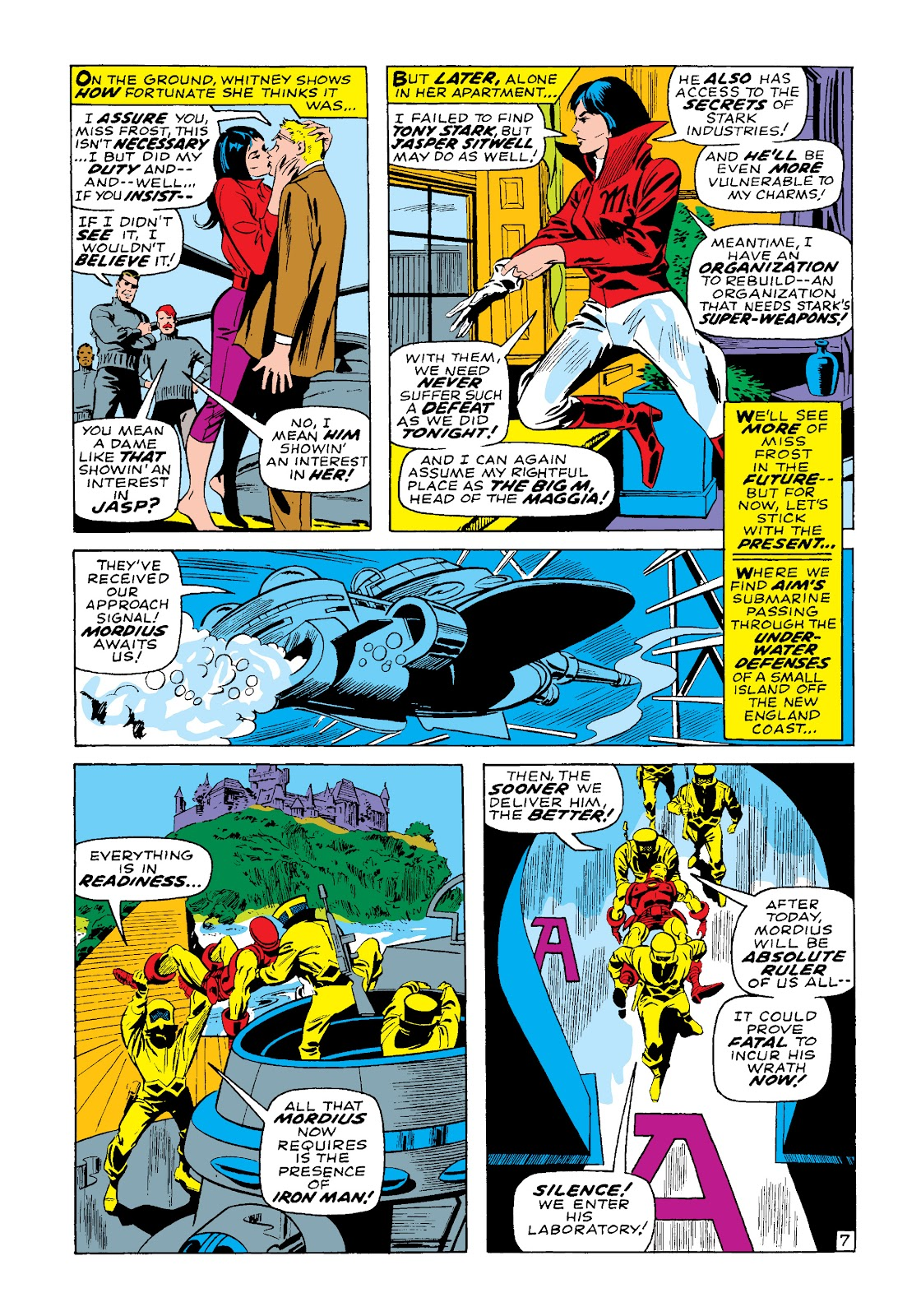 Read online Marvel Masterworks: The Invincible Iron Man comic -  Issue # TPB 4 (Part 3) - 31