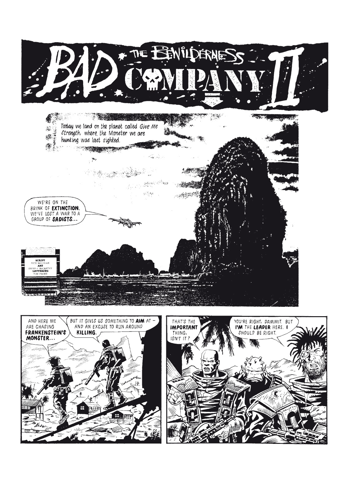 Read online The Complete Bad Company comic -  Issue # TPB - 162