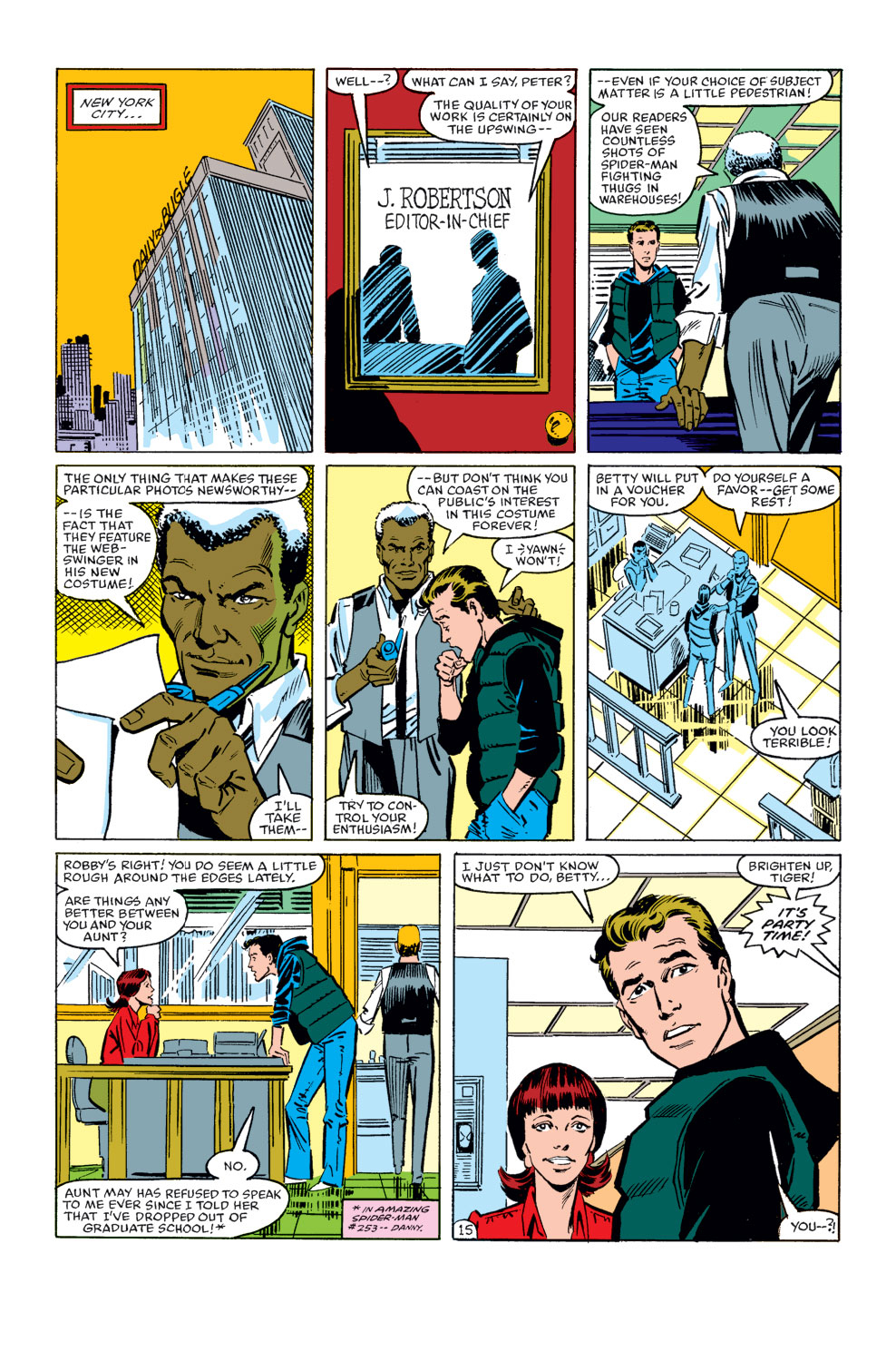 The Amazing Spider-Man (1963) 256 Page 15