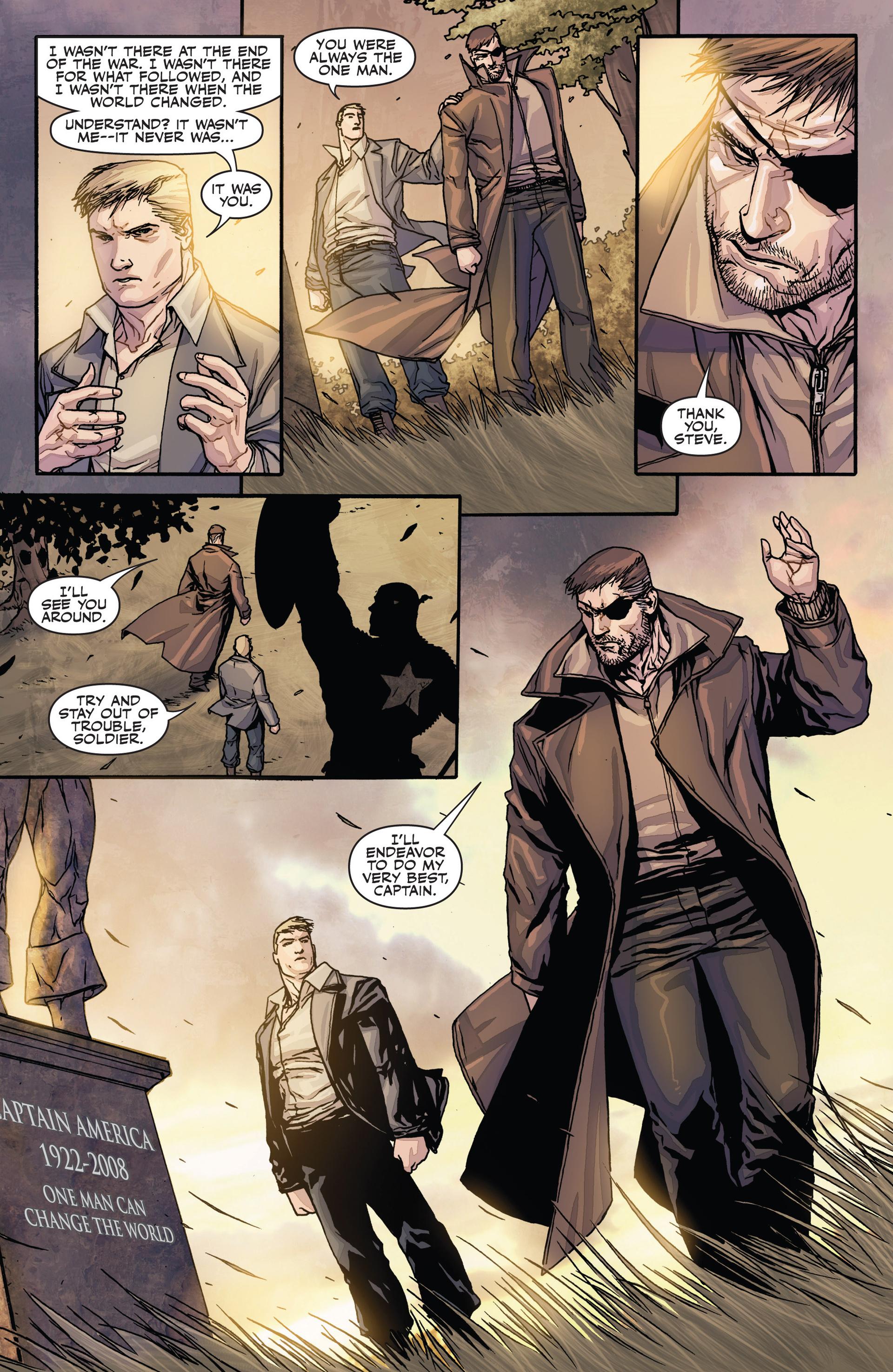 Read online Secret Warriors comic -  Issue #28 - 23