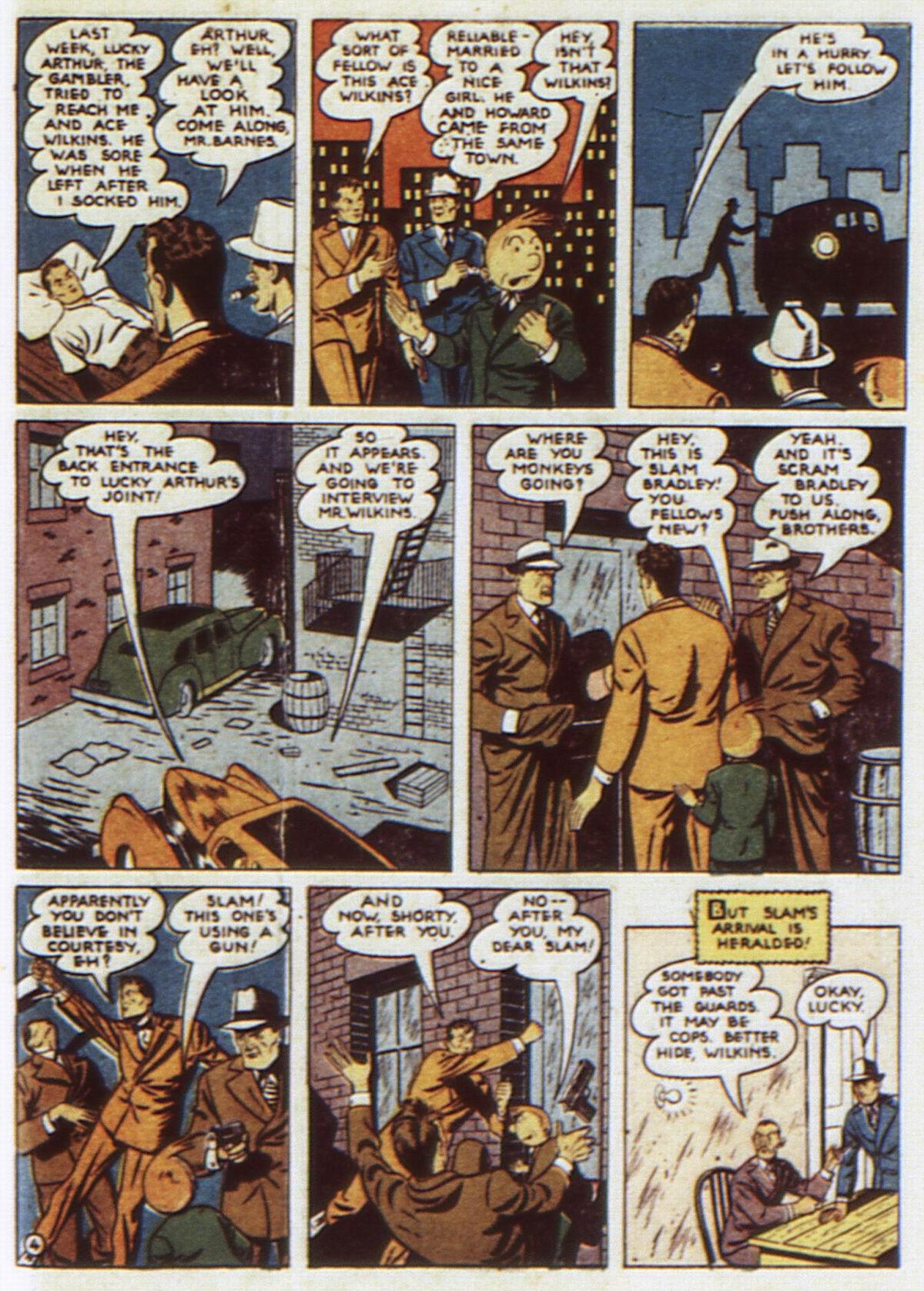 Read online Detective Comics (1937) comic -  Issue #52 - 61
