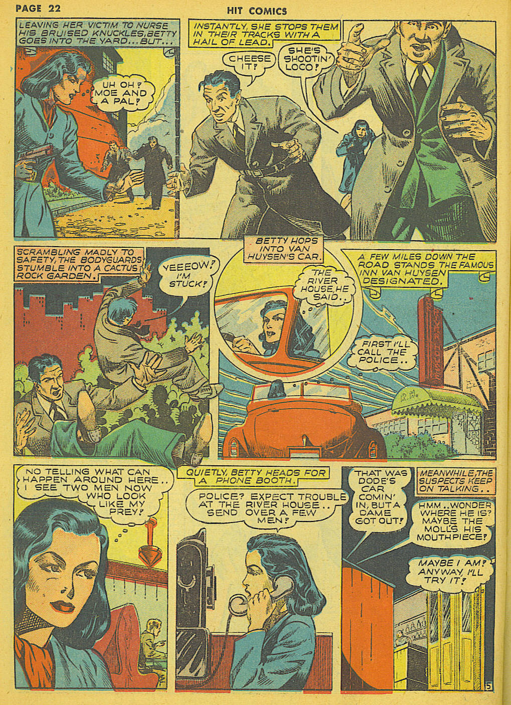 Read online Hit Comics comic -  Issue #21 - 24
