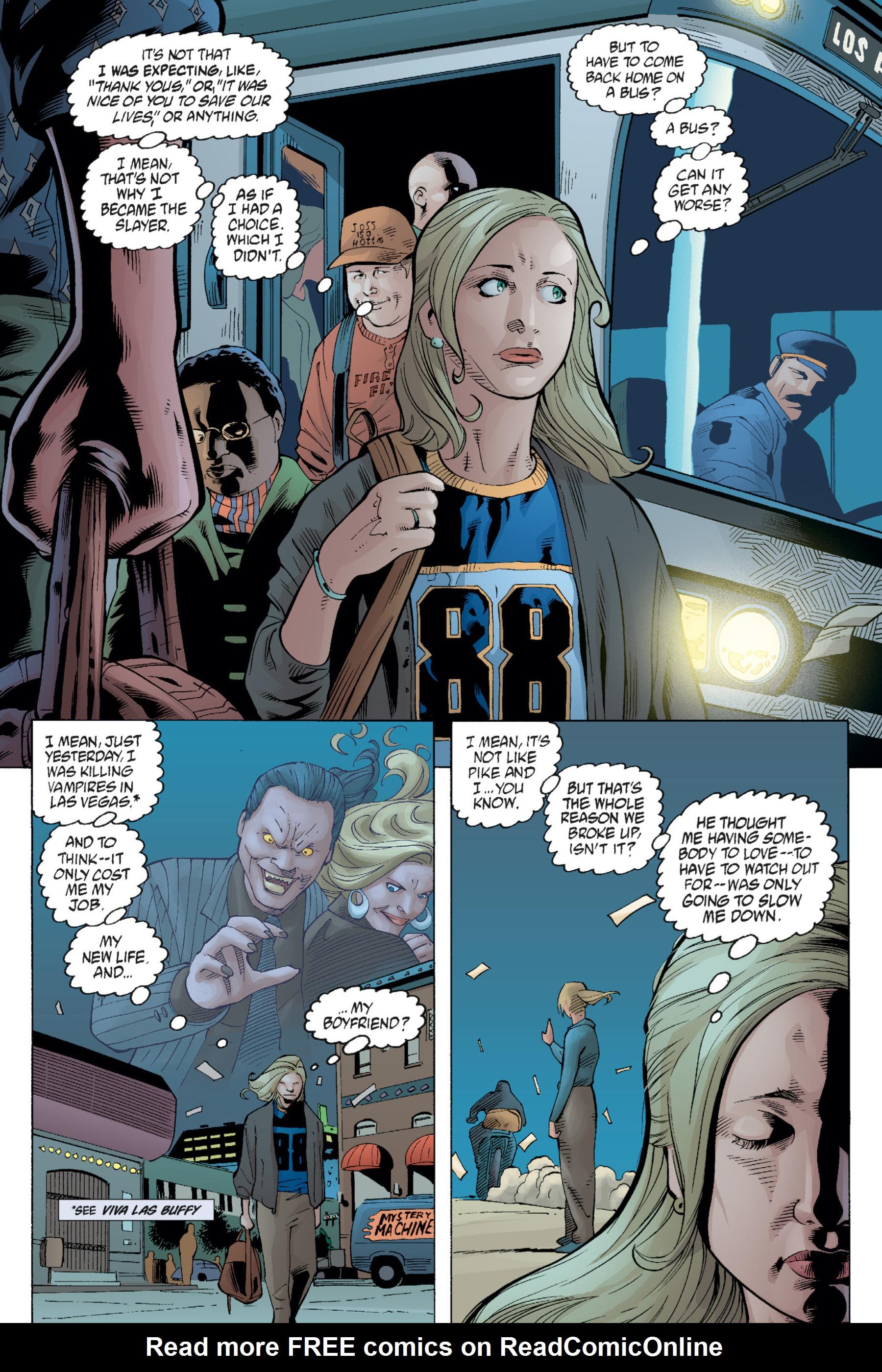 Read online Buffy the Vampire Slayer: Omnibus comic -  Issue # TPB 1 - 218