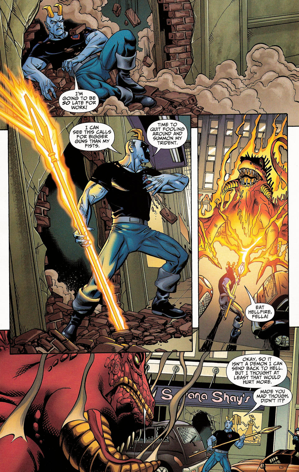 Read online Shadowpact comic -  Issue #4 - 23
