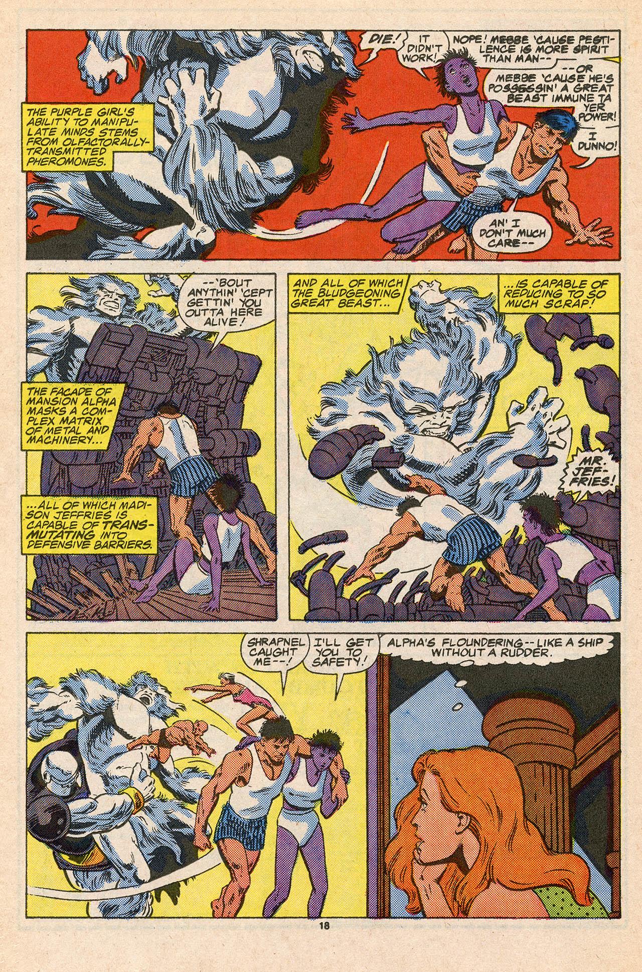 Read online Alpha Flight (1983) comic -  Issue #45 - 26