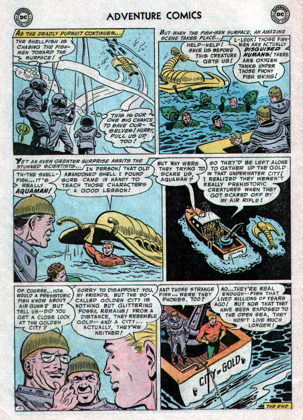 Read online Adventure Comics (1938) comic -  Issue #223 - 22