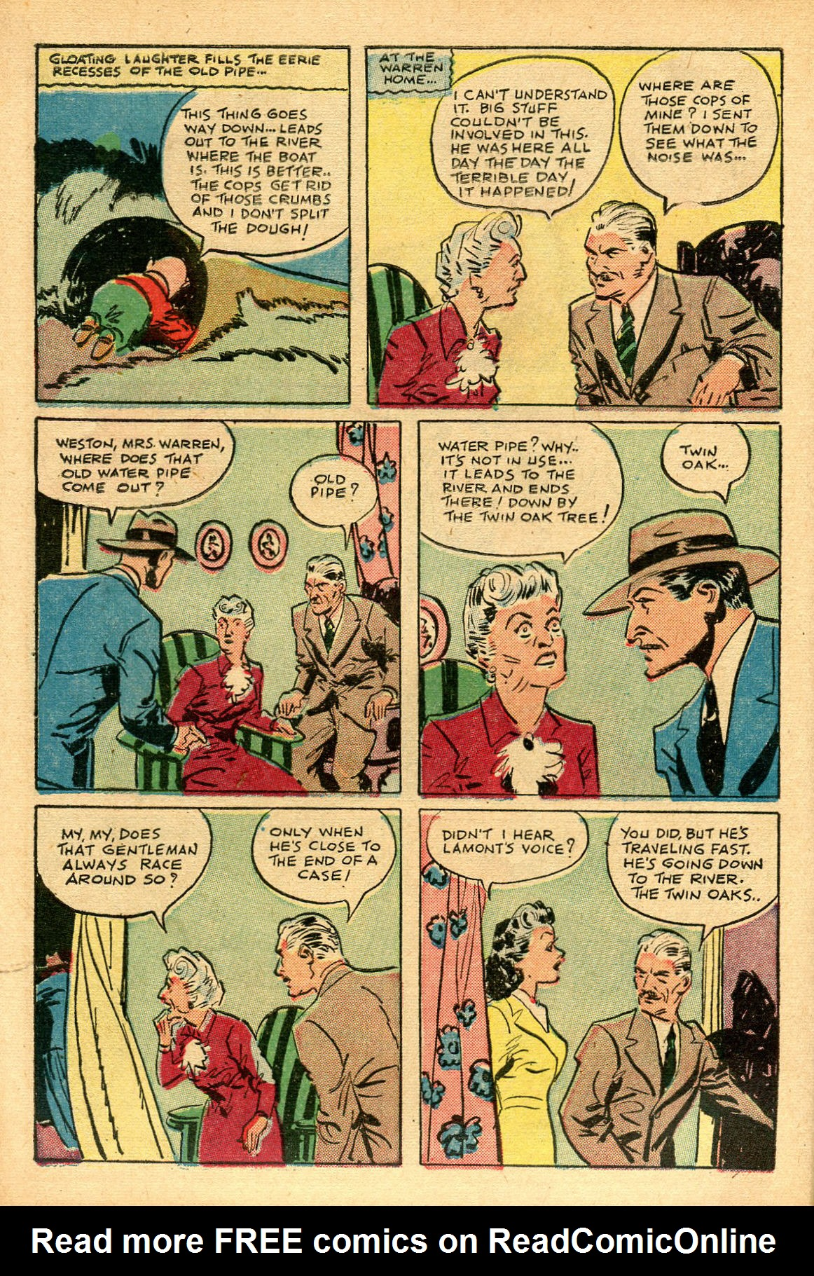 Read online Shadow Comics comic -  Issue #69 - 12