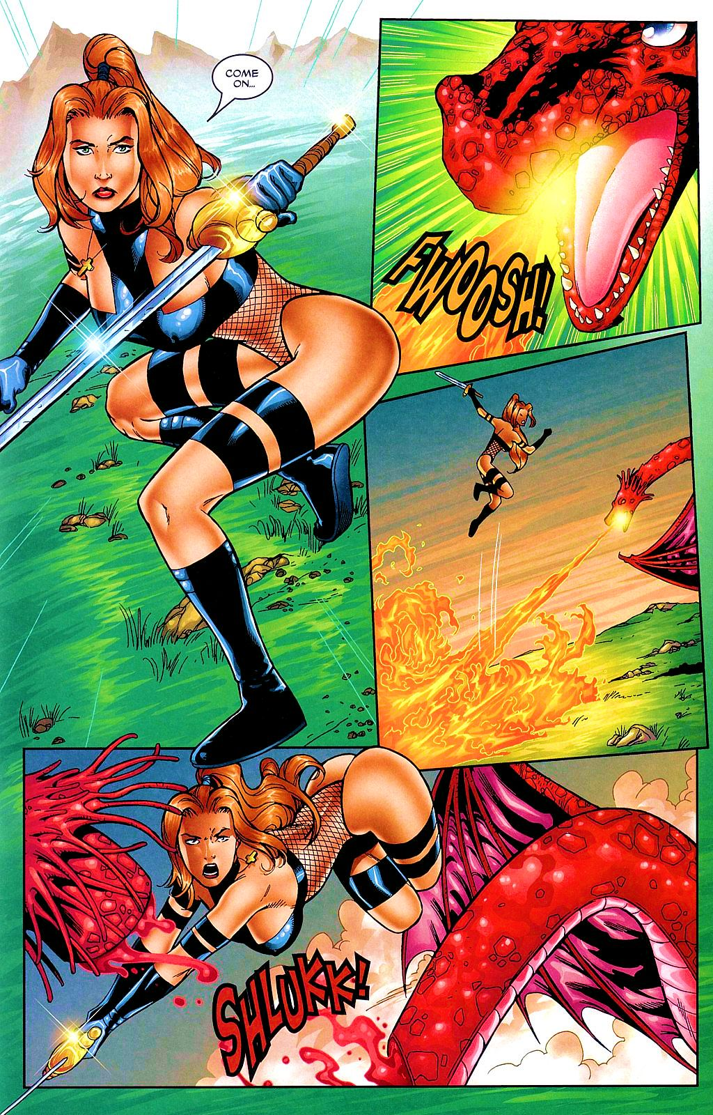 Read online Avengelyne: Dragon Realm comic -  Issue #1 - 6