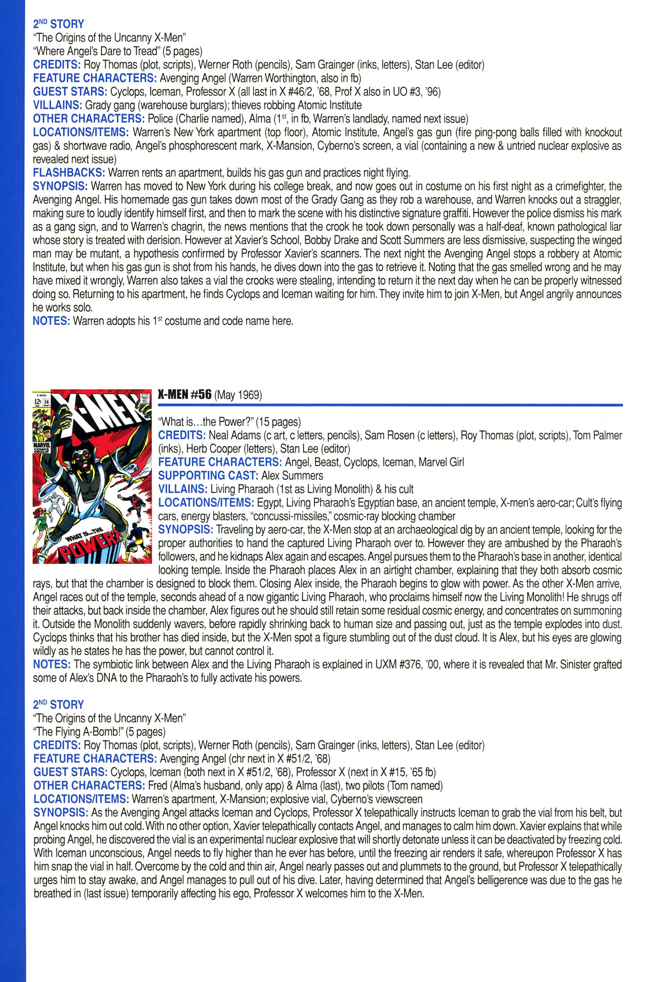 Read online Official Index to the Marvel Universe comic -  Issue #2 - 48