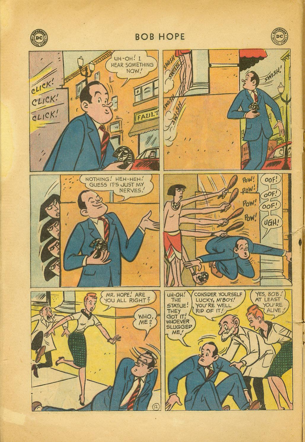 The Adventures of Bob Hope issue 64 - Page 16
