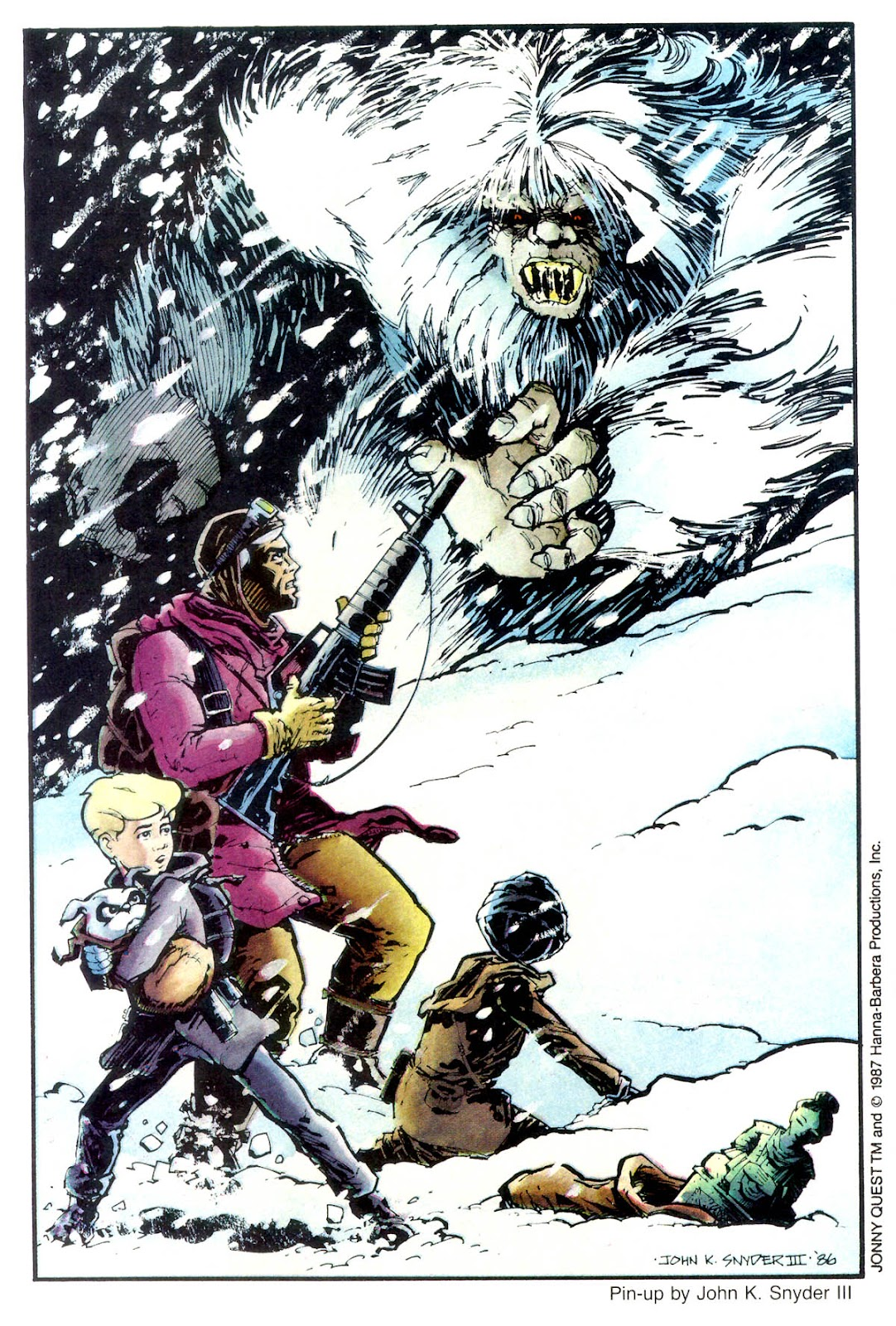 Jonny Quest (1986) issue 12 - Page 35