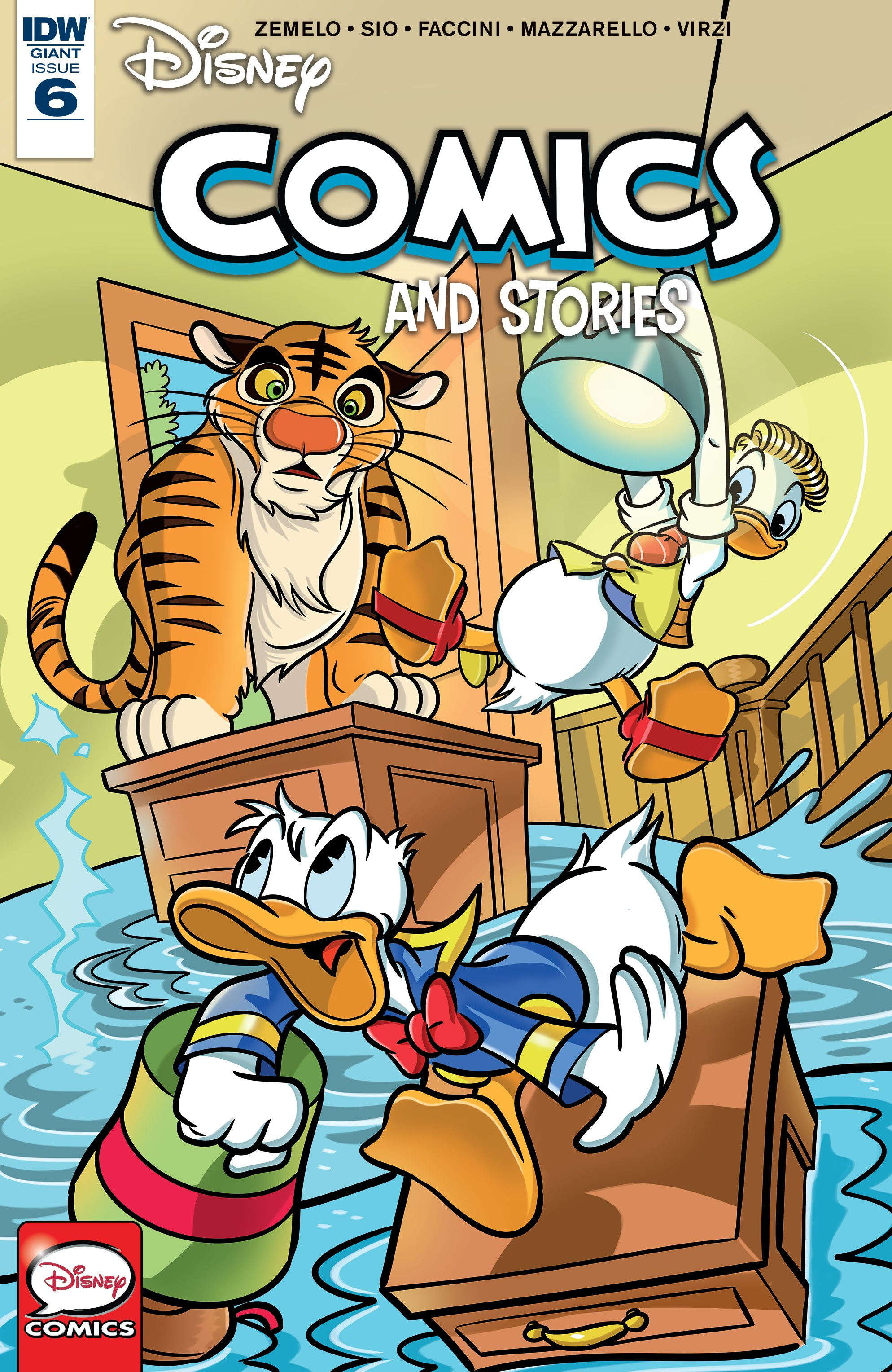 Disney Comics and Stories 6 Page 1