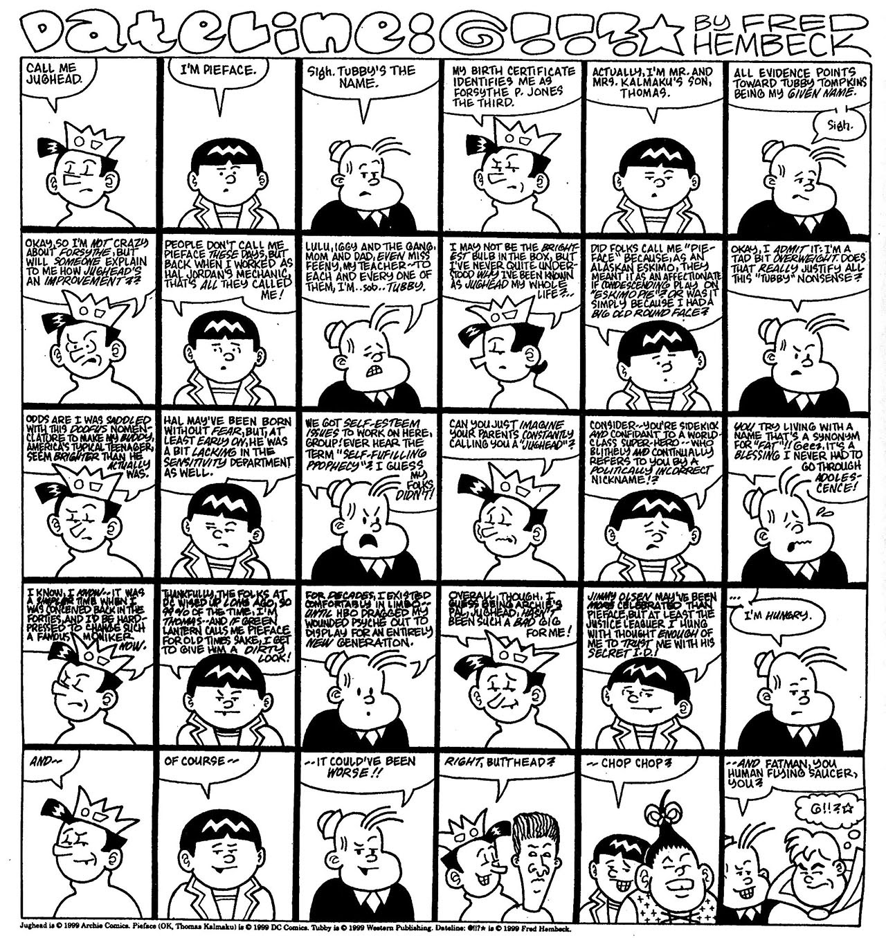Read online The Nearly Complete Essential Hembeck Archives Omnibus comic -  Issue # TPB (Part 7) - 95
