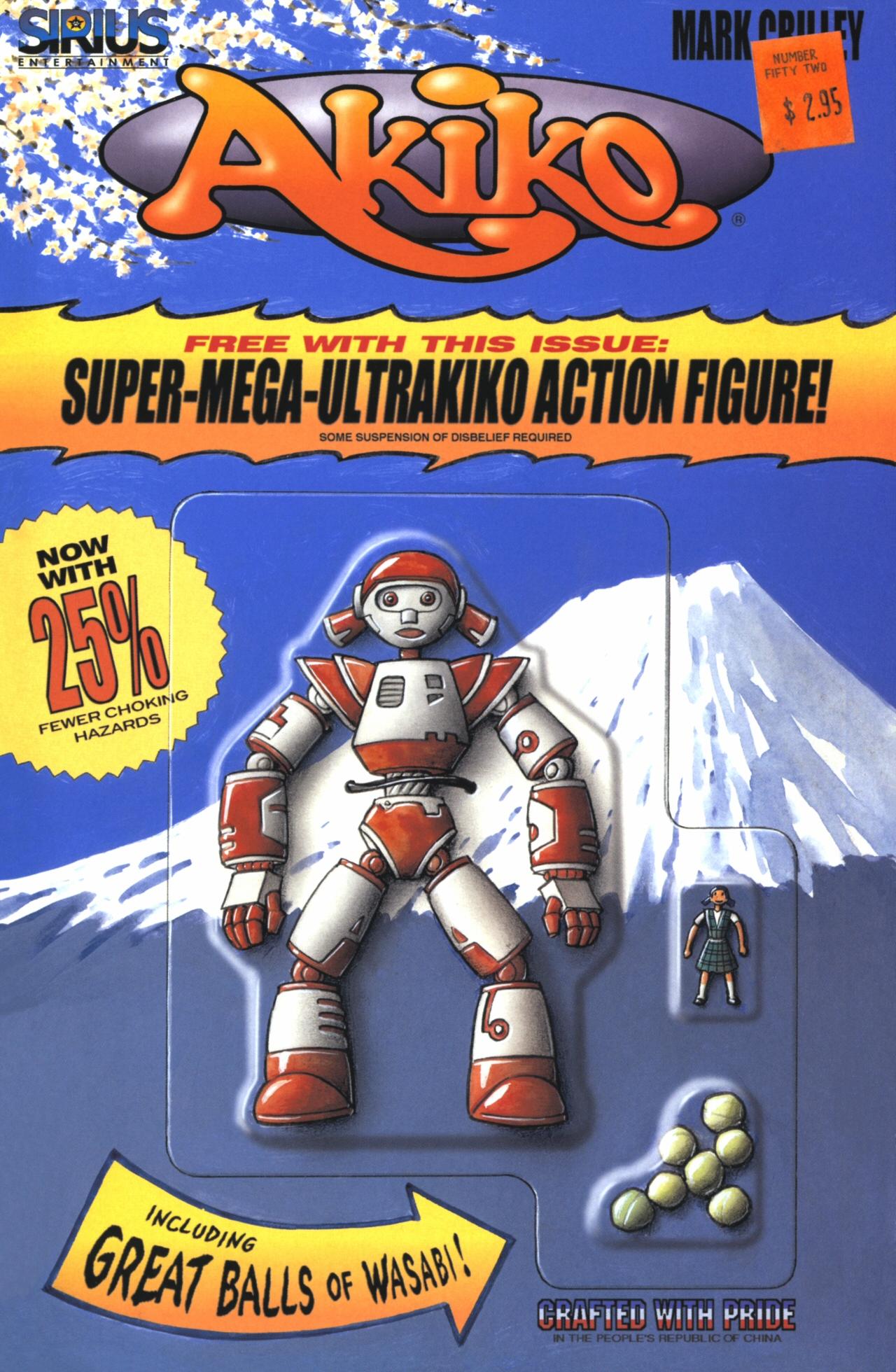 Read online Akiko comic -  Issue #52 - 1