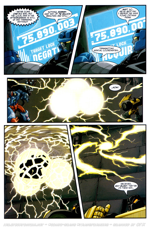 Read online Transformers Armada comic -  Issue #17 - 13