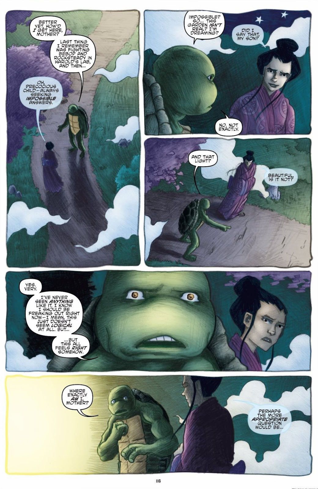 Read online Teenage Mutant Ninja Turtles: The IDW Collection comic -  Issue # TPB 6 (Part 2) - 15