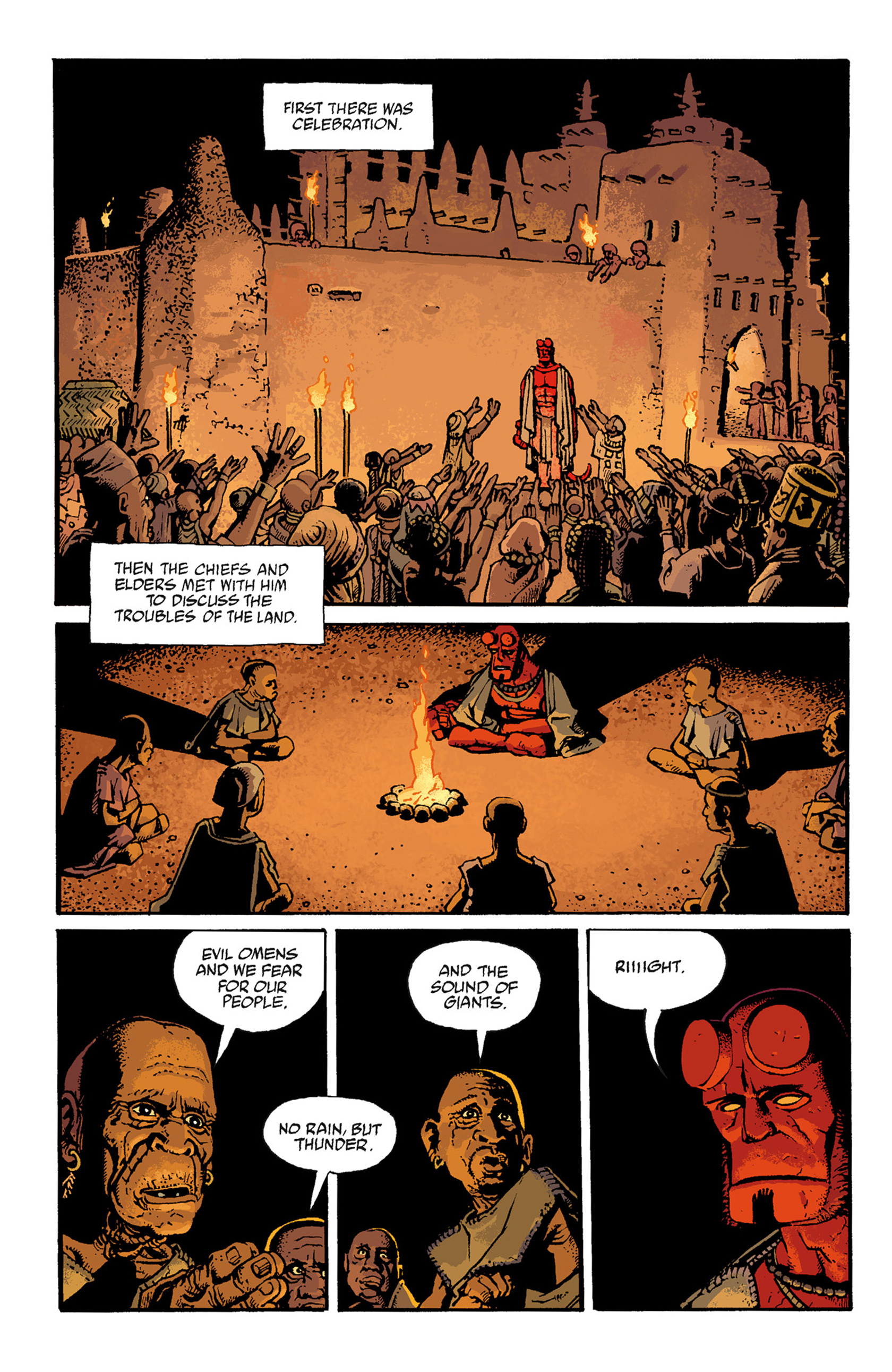 Read online Hellboy: The Troll Witch and Others comic -  Issue # TPB - 92