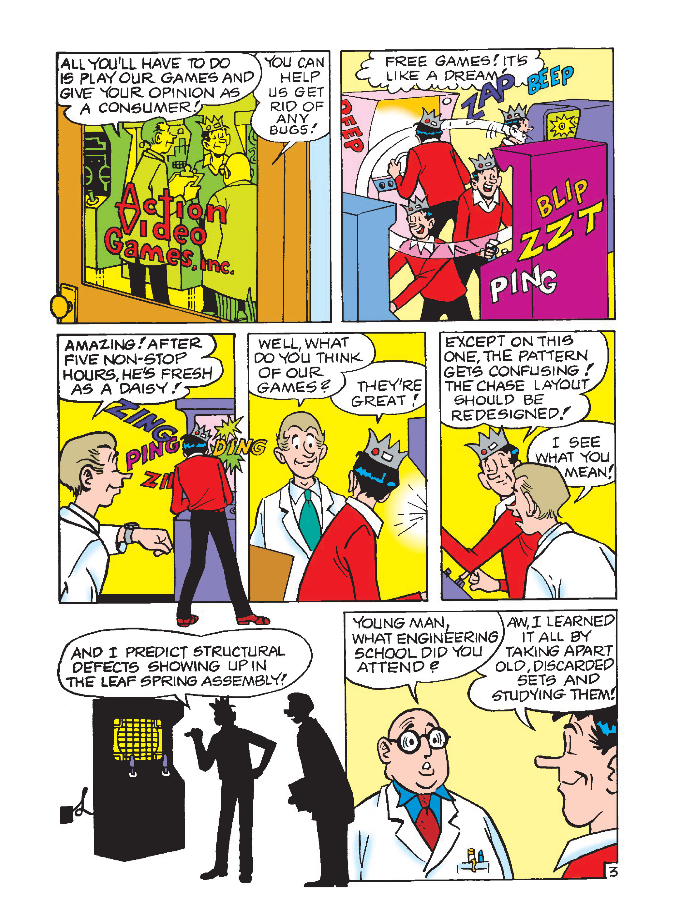 Read online Archie 75th Anniversary Digest comic -  Issue #1 - 66