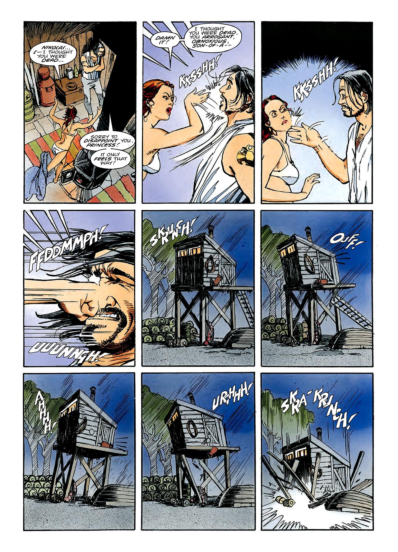 Read online Nikolai Dante comic -  Issue # TPB 3 - 127
