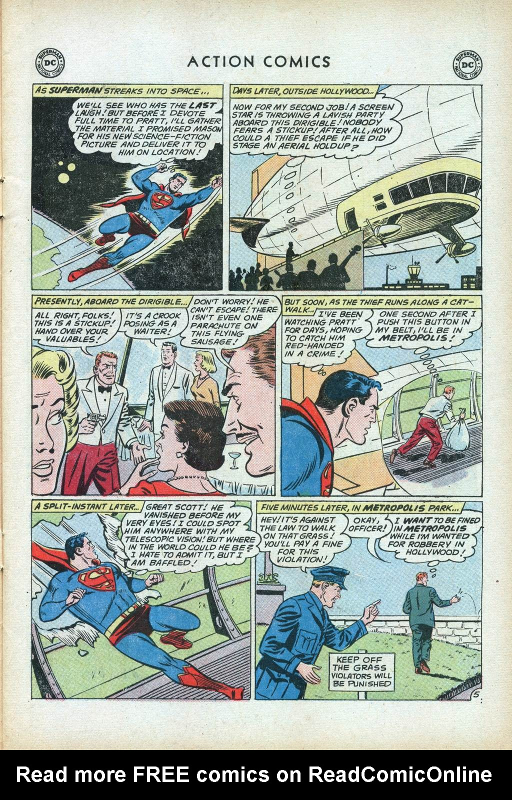 Read online Action Comics (1938) comic -  Issue #281 - 7