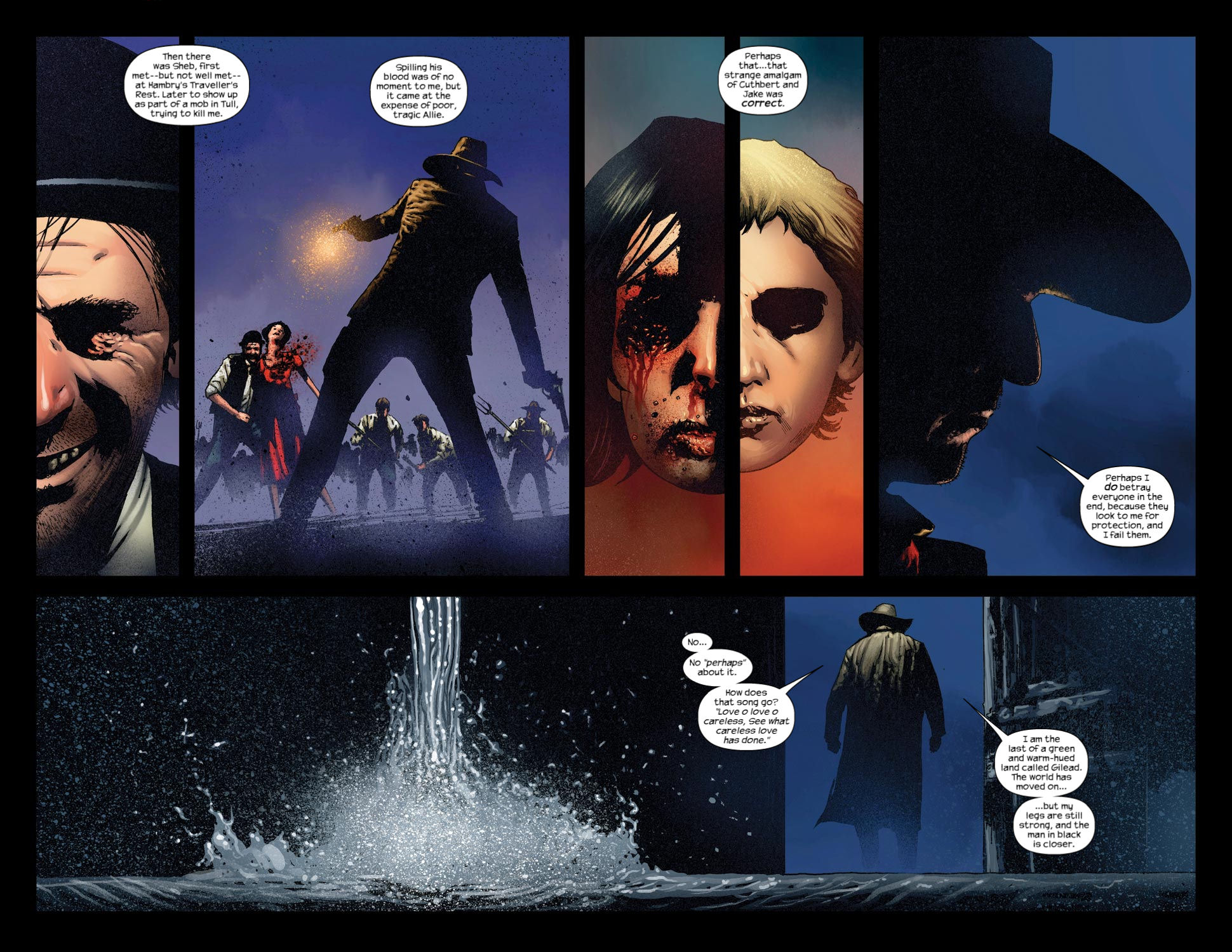Read online Dark Tower: The Gunslinger - The Way Station comic -  Issue #3 - 9