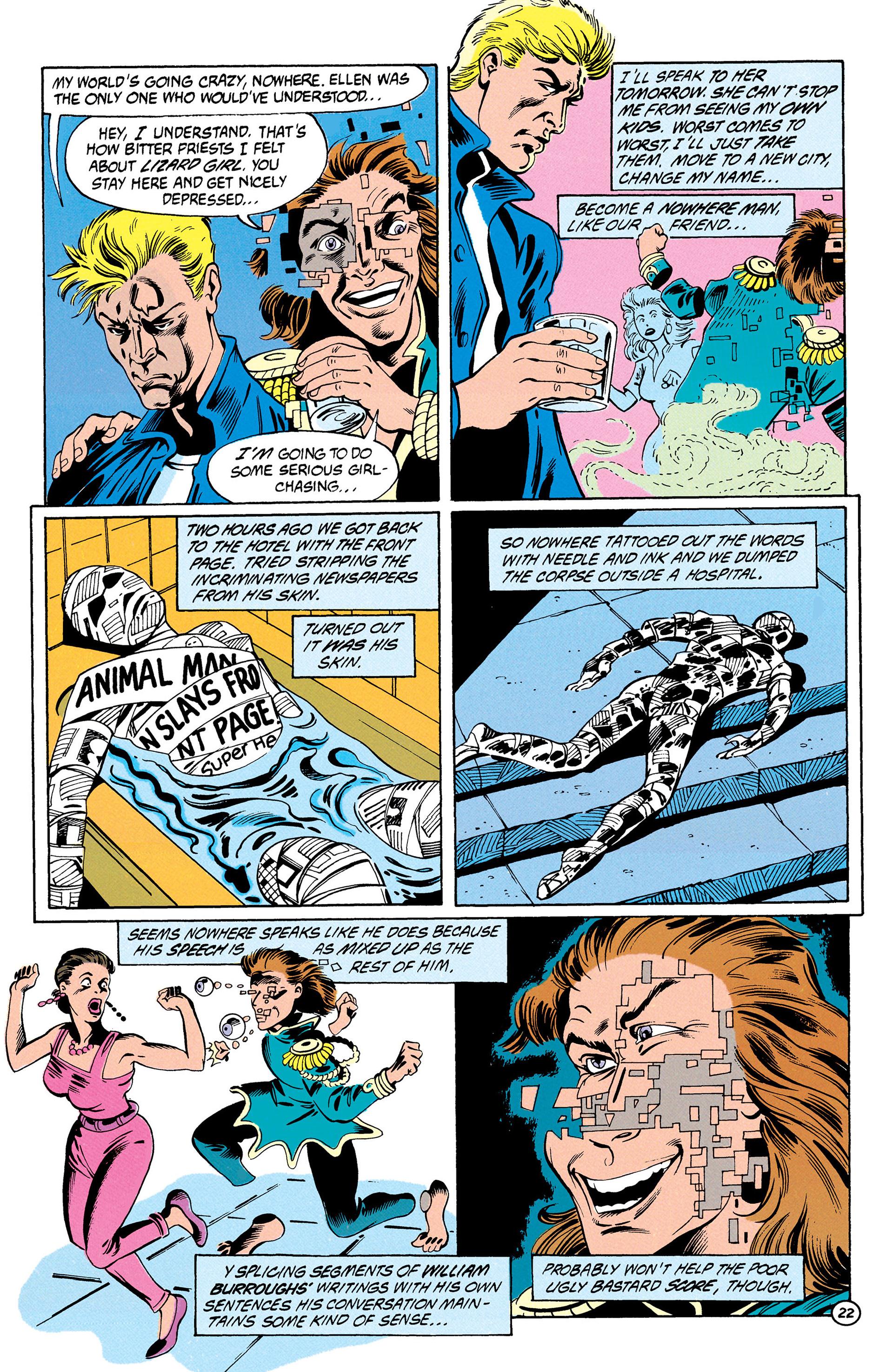 Read online Animal Man (1988) comic -  Issue #28 - 23