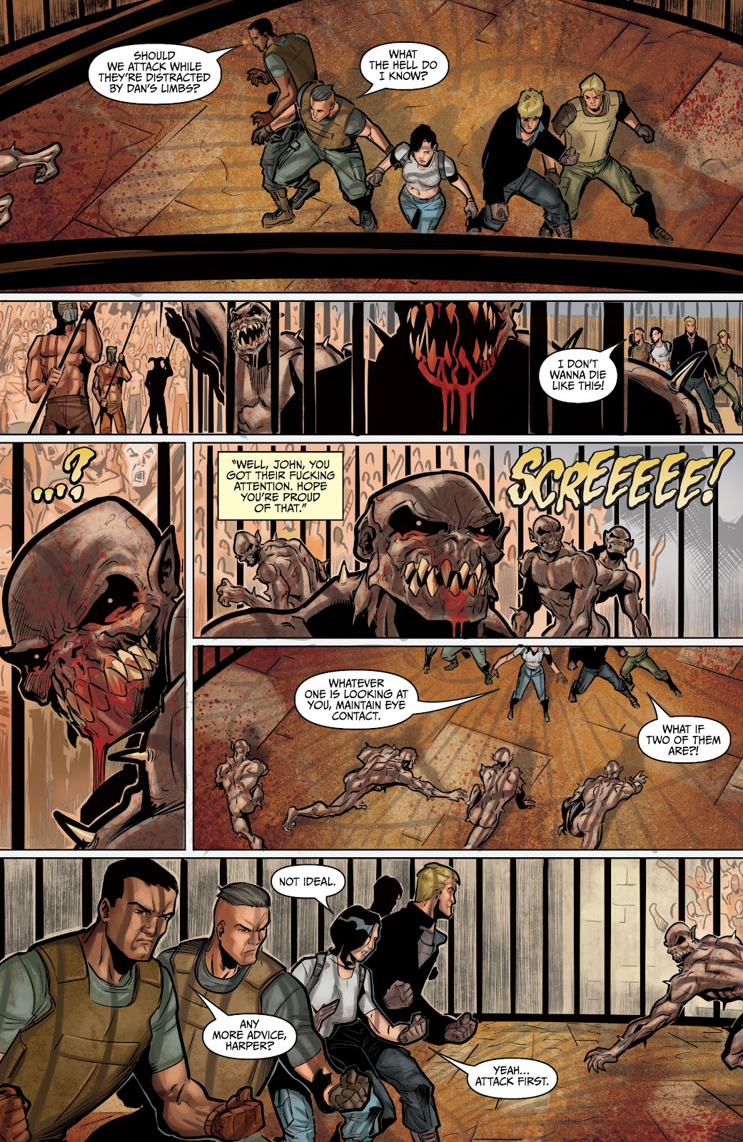 The Courier: Liberty & Death issue 2 - Page 25